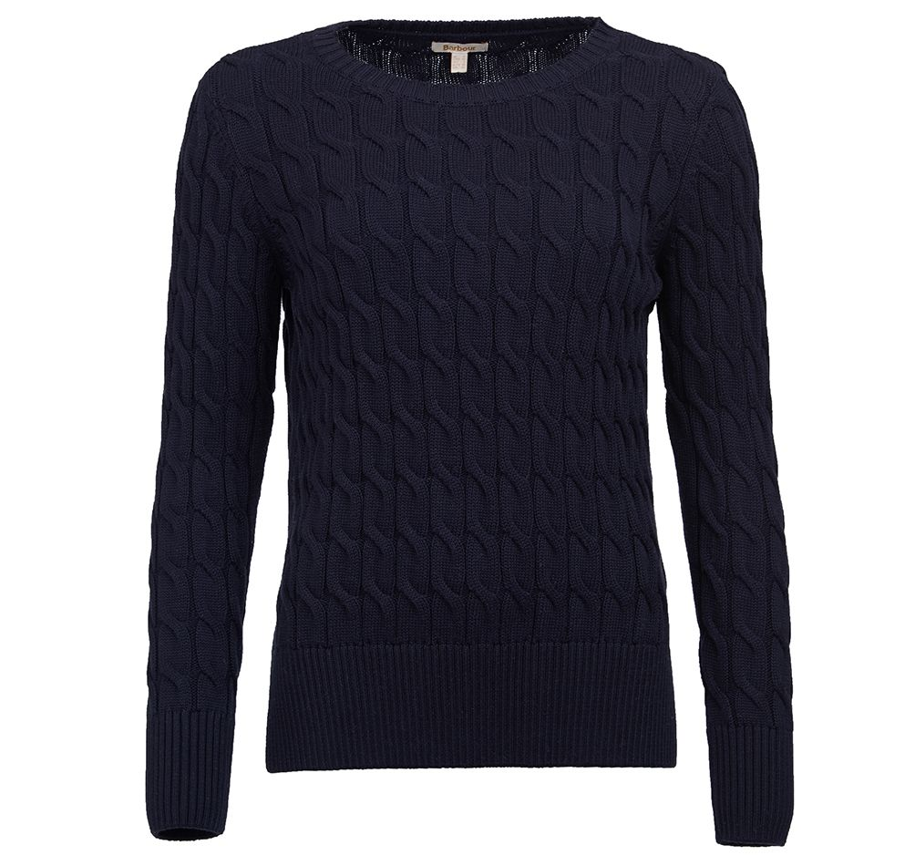 Barbour Barbour Lewes Sweater Navy Barbour International: Regular Fit