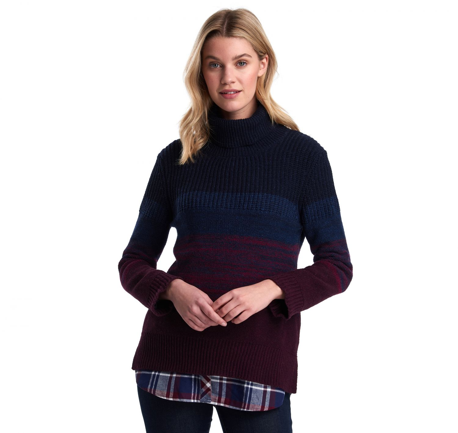 Barbour Sternway Knit Wilderness Bordeaux