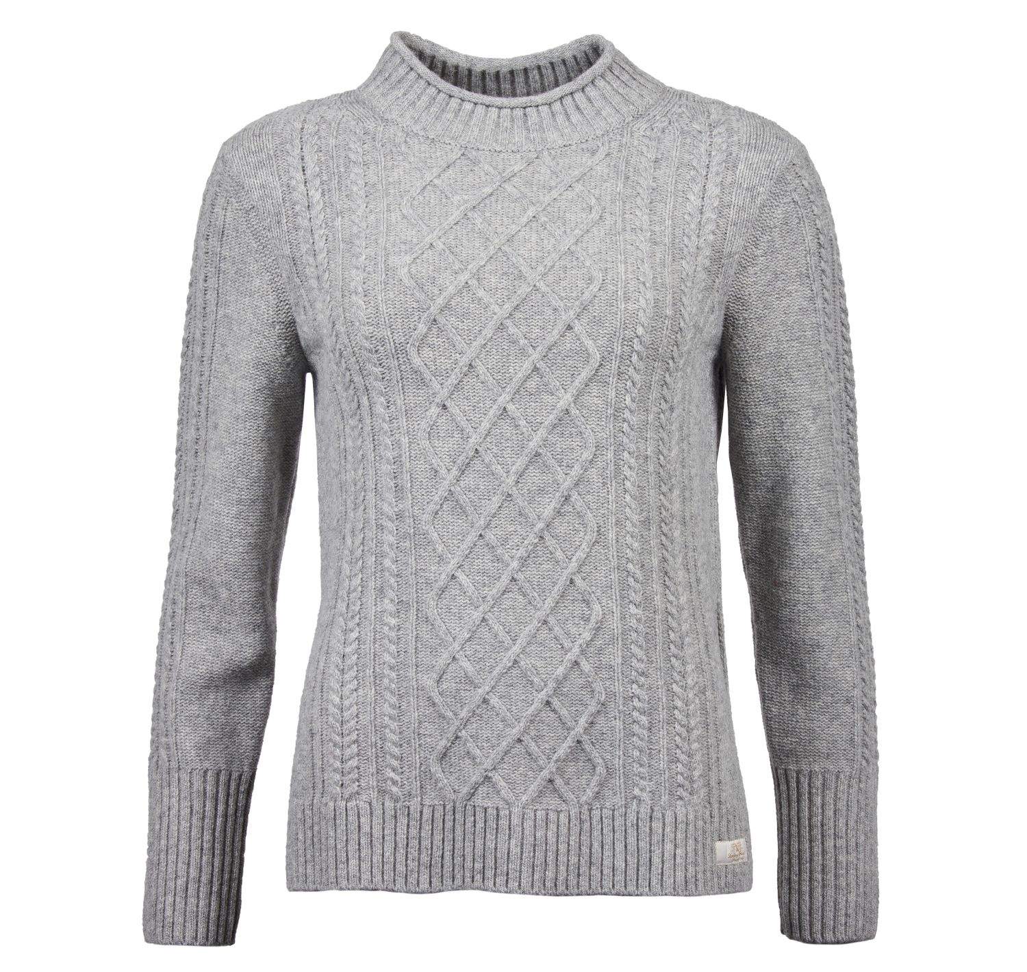 Barbour Barbour Tyneside Knit Sweater Grey Barbour International
