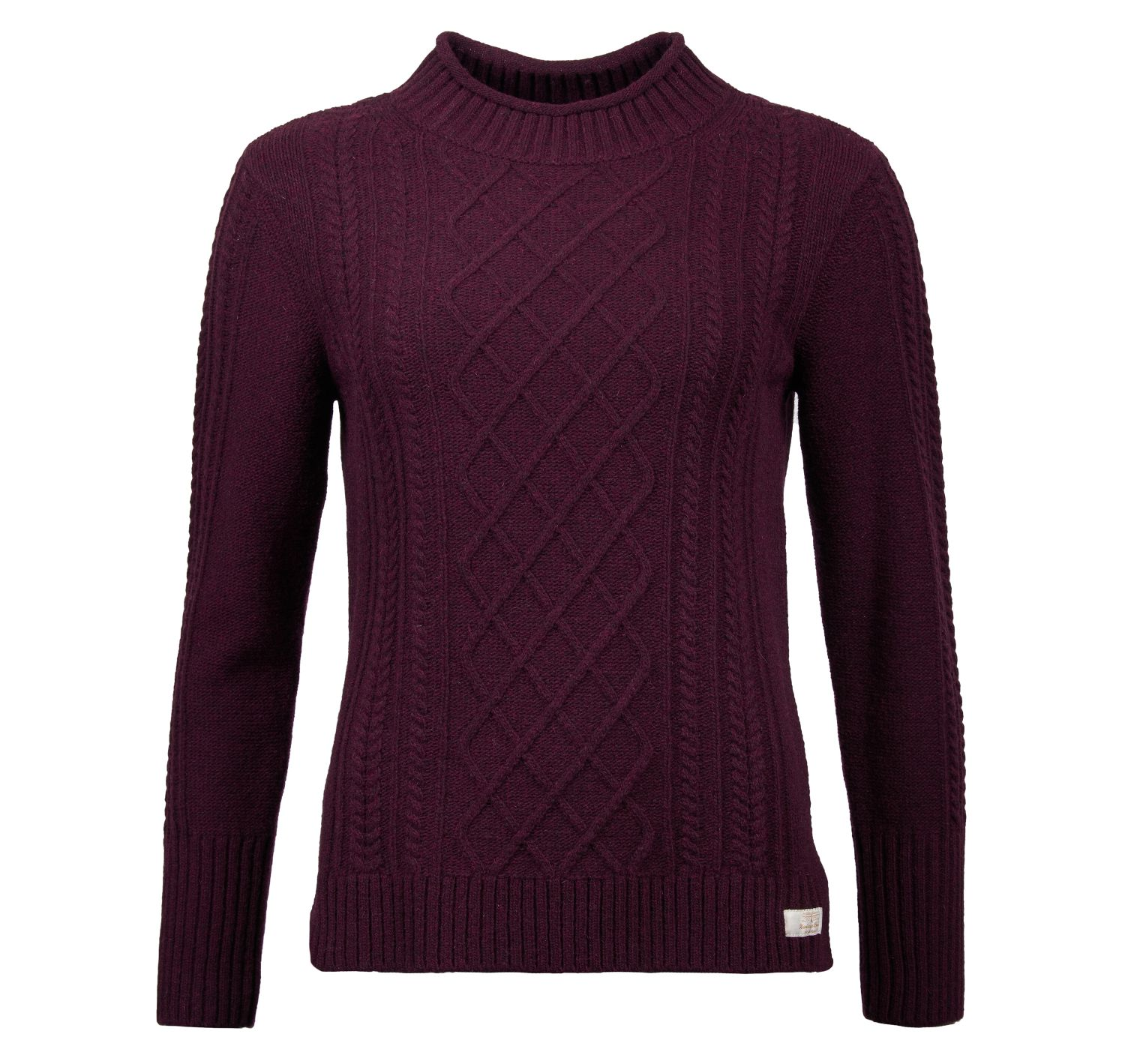 Barbour Barbour Tyneside Knit Sweater Aubergine Barbour International