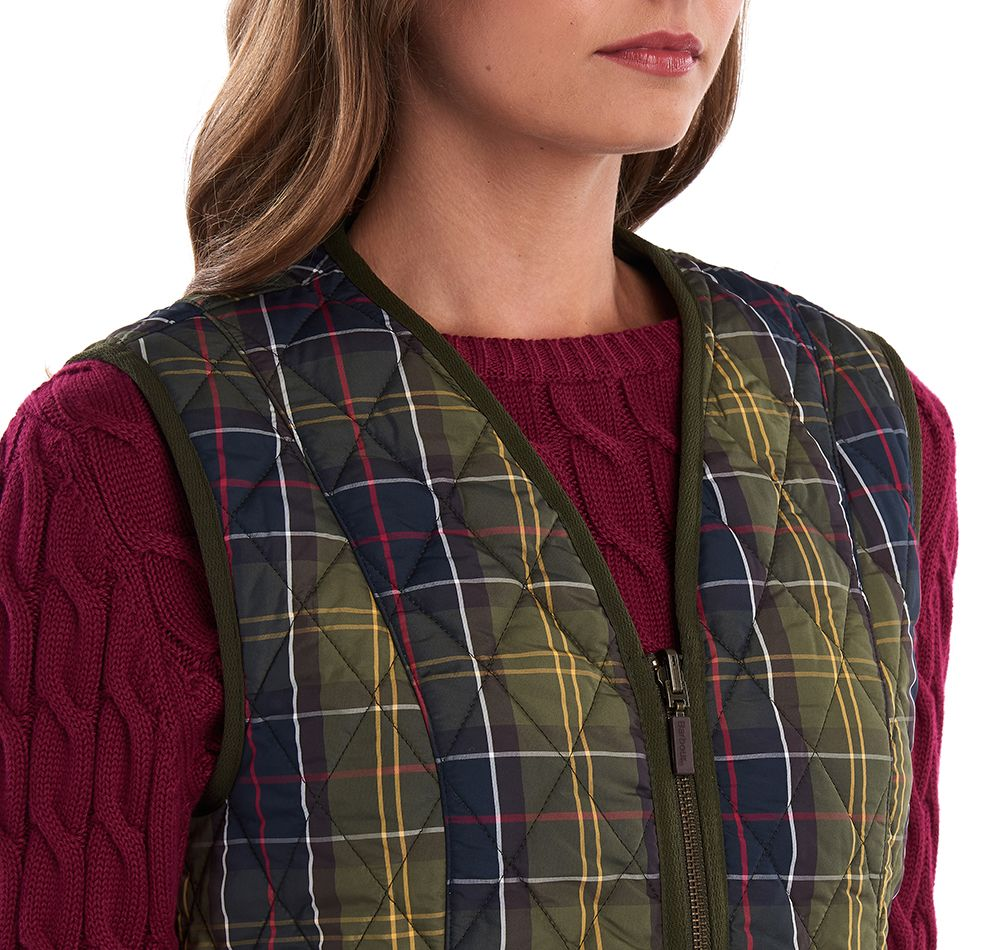 Barbour Ladies Tartan Betty Interactive Liner