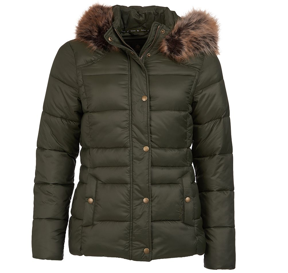 Barbour Ullswater Quilted Jacket Olive Barbour Countrywear