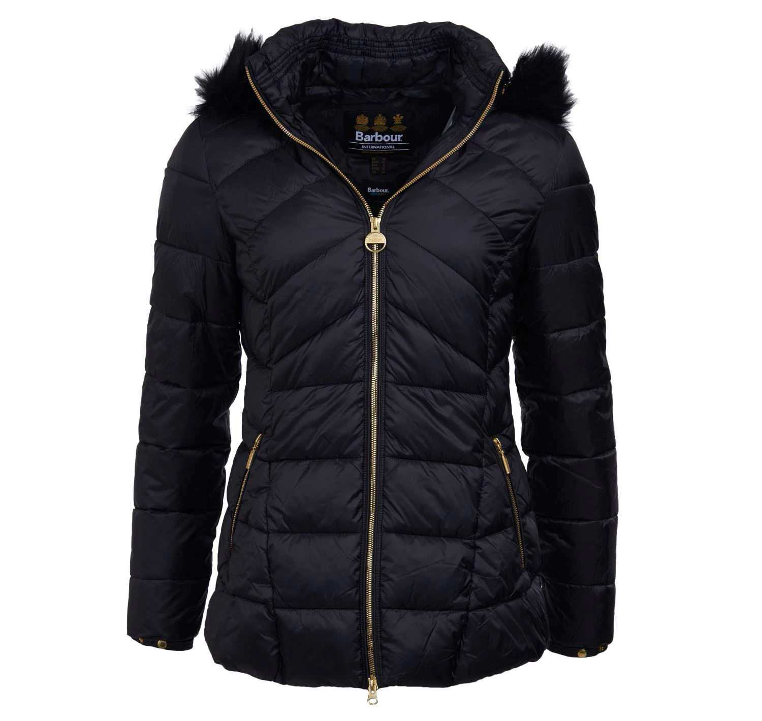 Barbour Hampton Quilted Black Barbour International
