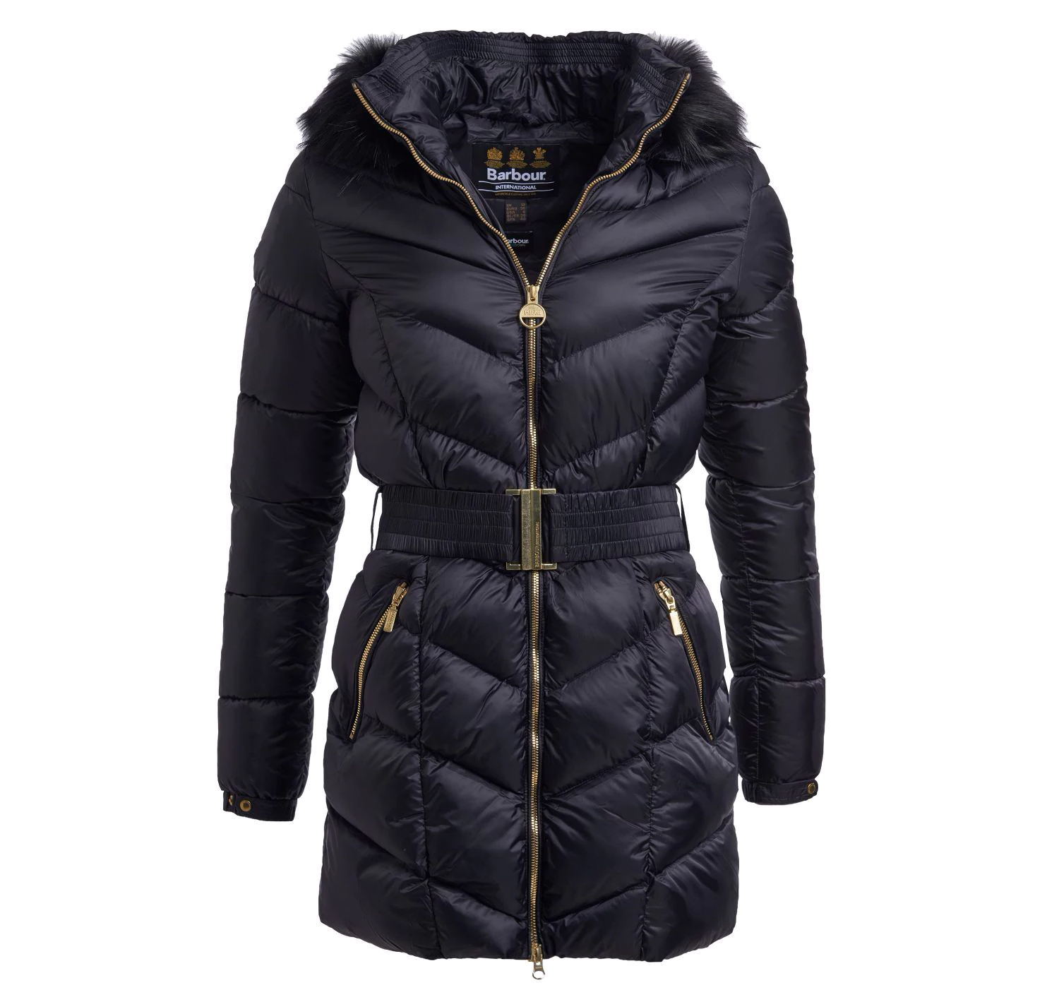 Barbour Highpoint Quilted Black Barbour International