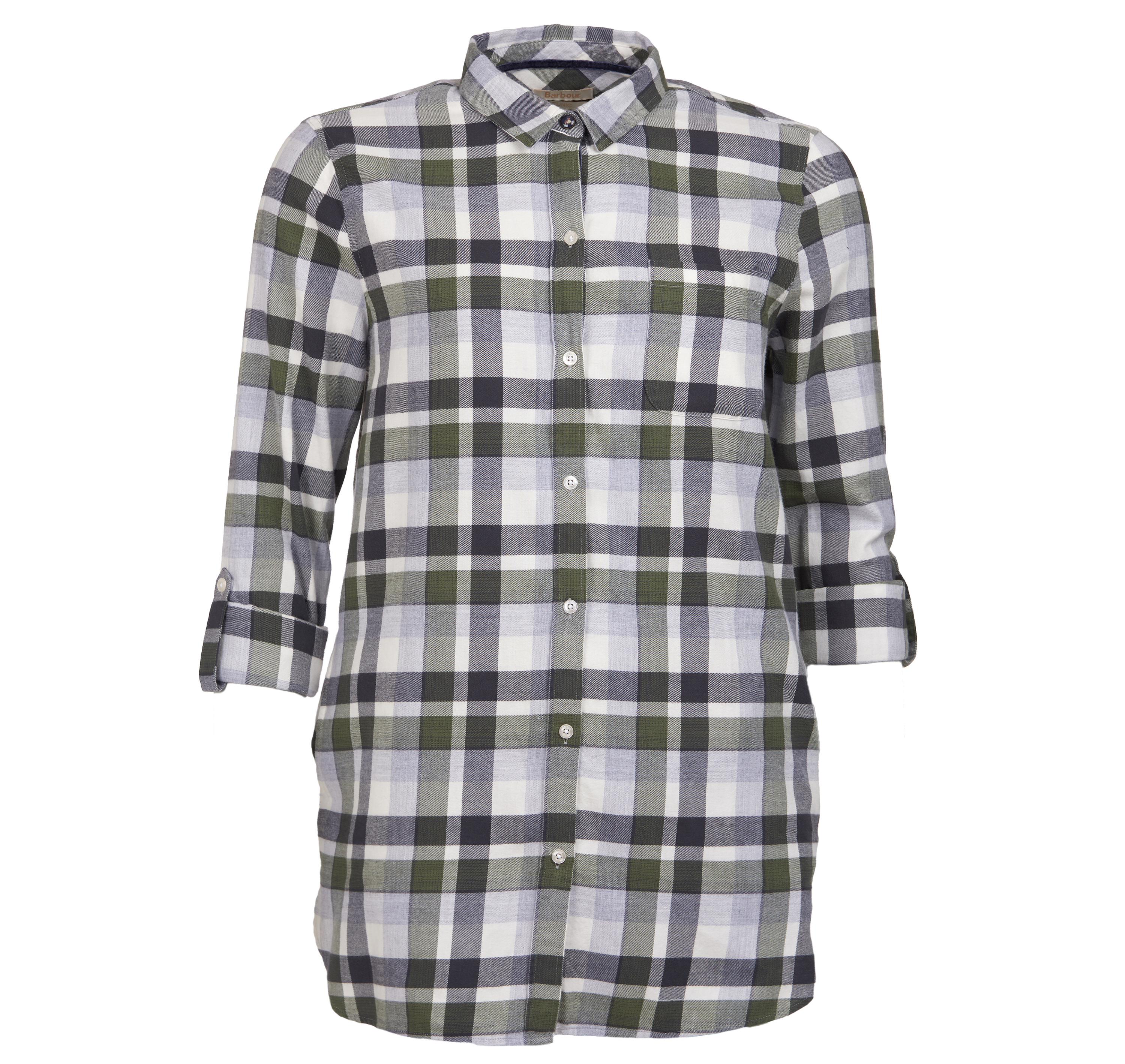 Barbour Lewes Shirt Green