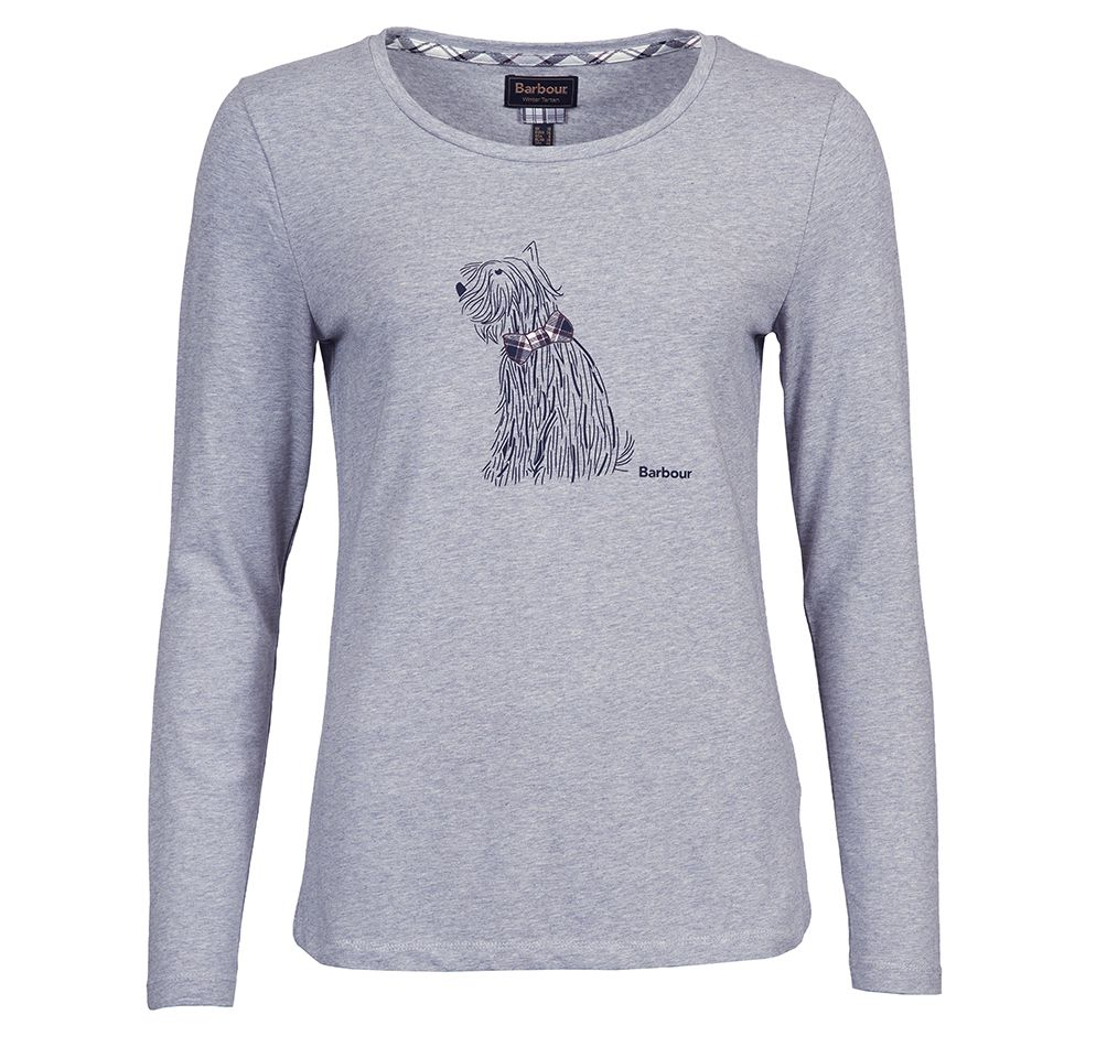 Barbour Barbour Skye T-shirt Grey Barbour International