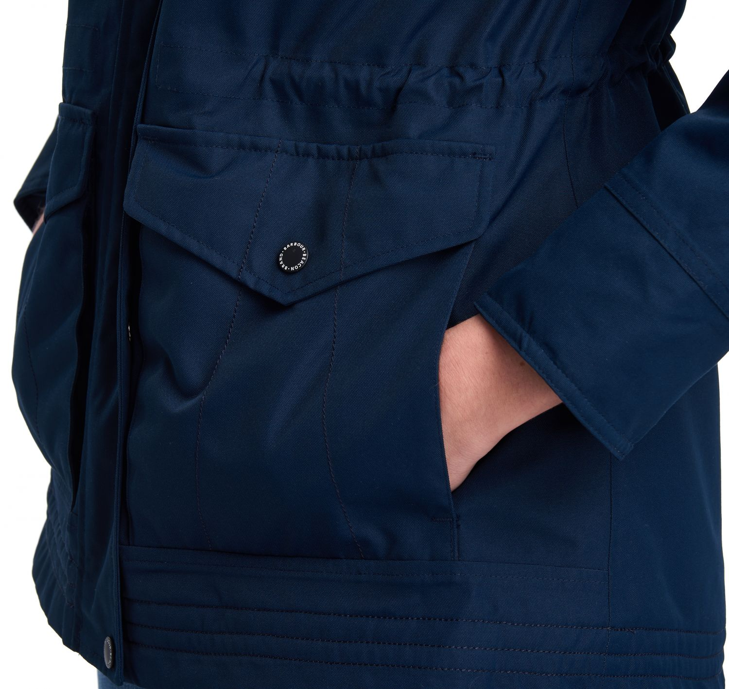 Barbour Abalone Jacket Navy