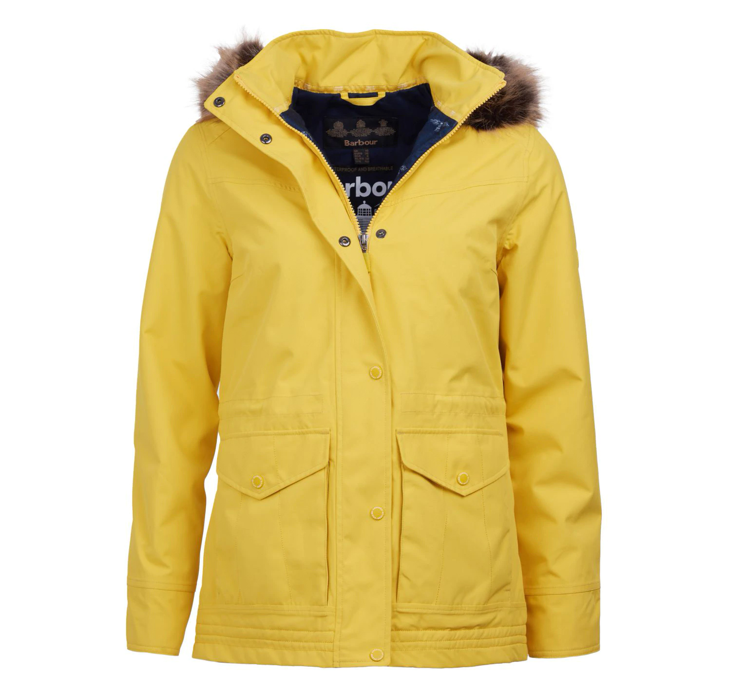Barbour Abalone Jacket Sulphur Barbour International: Regular Fit
