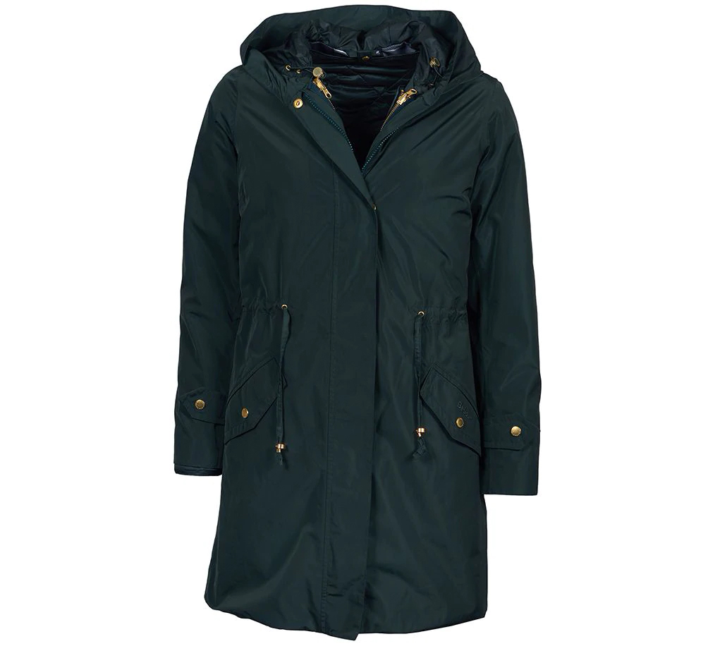 Barbour Aggie Jacket Thyme Barbour International: Regular Fit