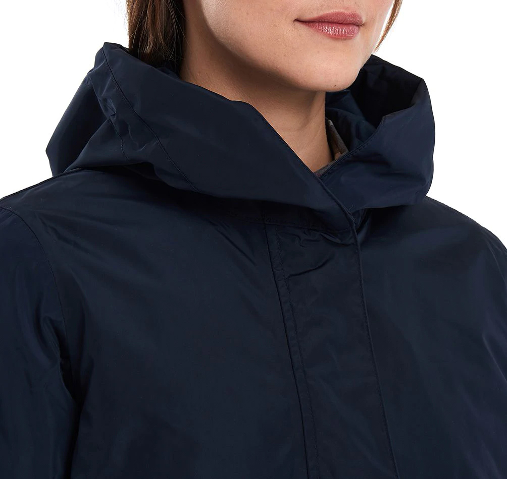Barbour Aggie Jacket navy