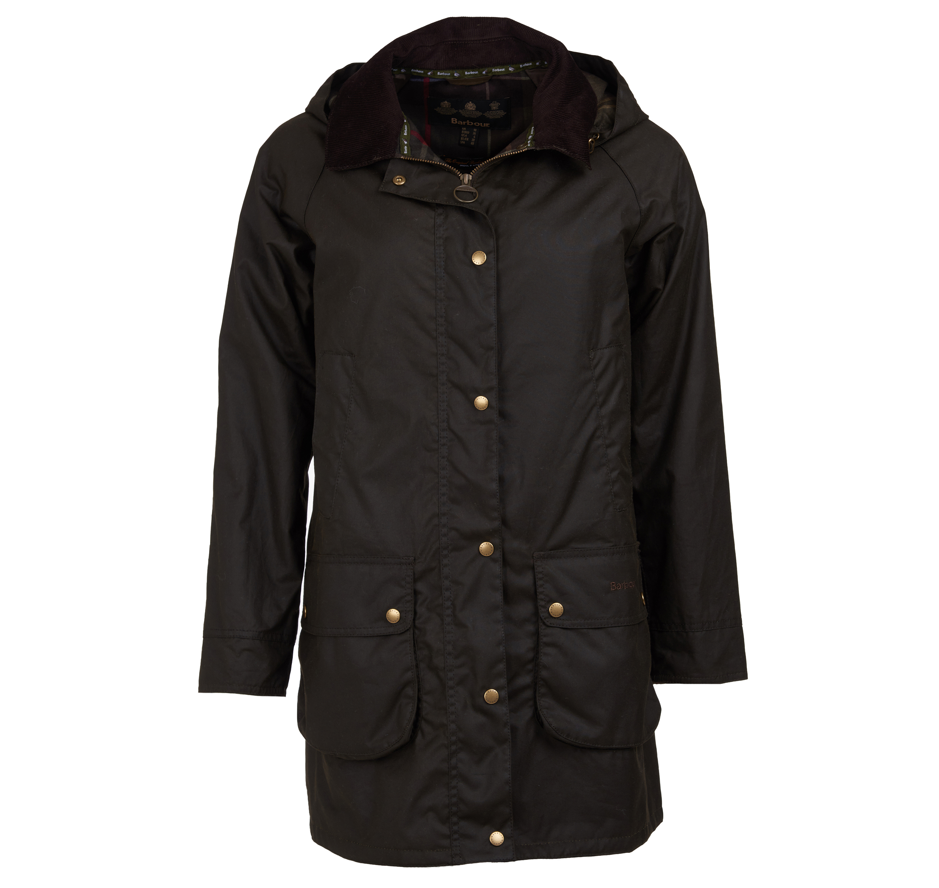 Barbour Canfield Wax Jacket Olive