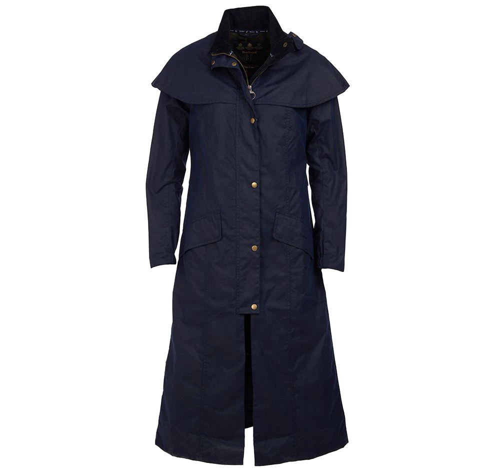 Barbour Throckley Wax Jacket Navy Barbour International: Regular Fit