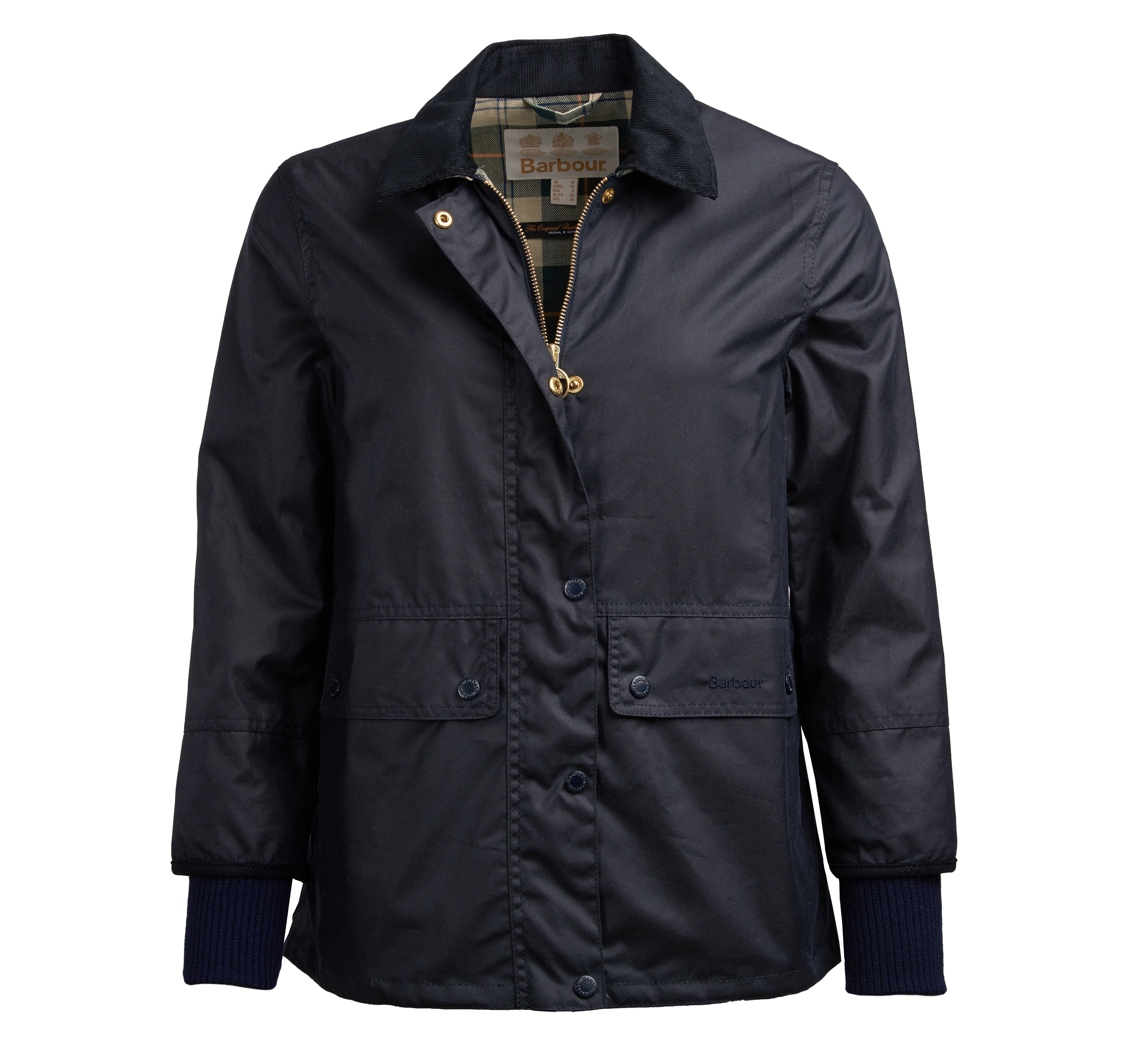 Barbour Tawny Wax Jacket Navy Barbour International