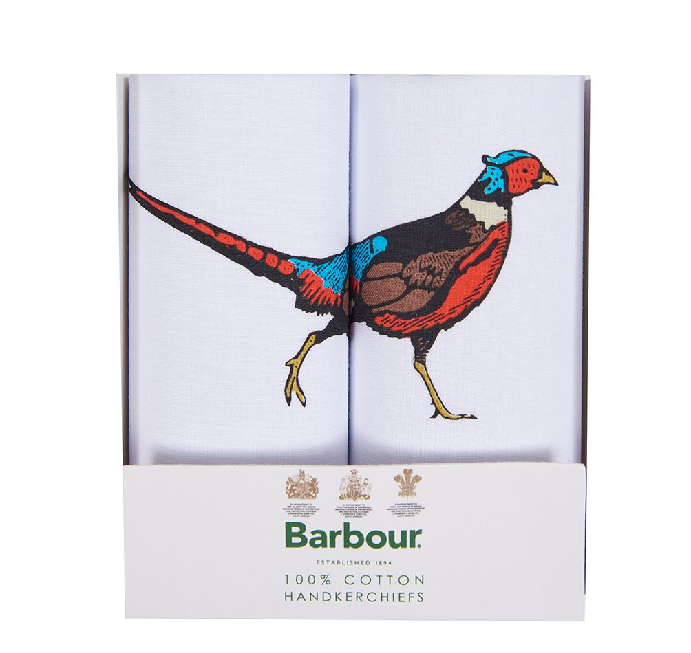 Barbour Animal Handkerchief Gift Box