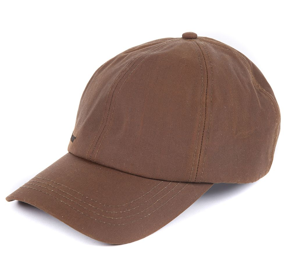 Barbour Wax Sports Cap Bark Barbour Sporting: from the Shooting capsule