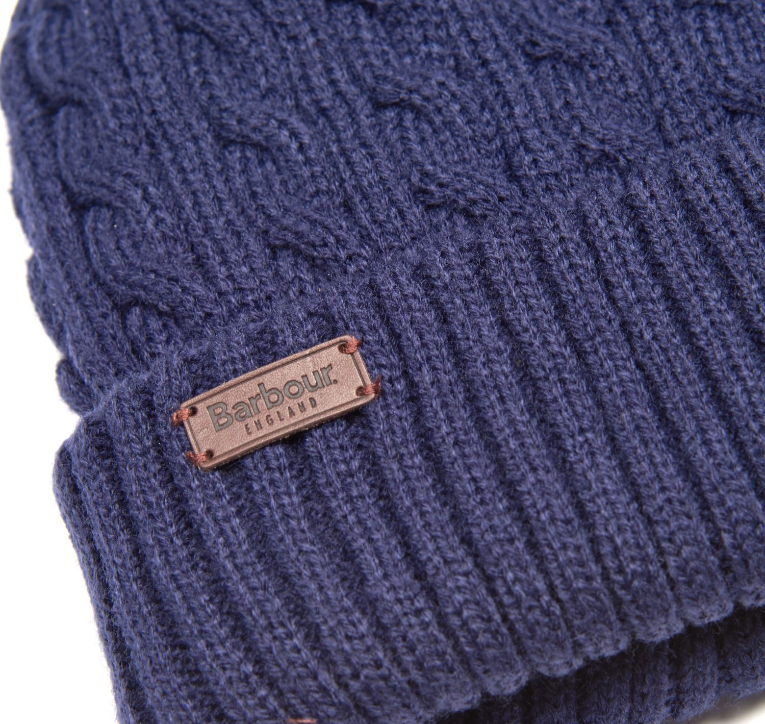Barbour Balfron Knit Beanie Navy