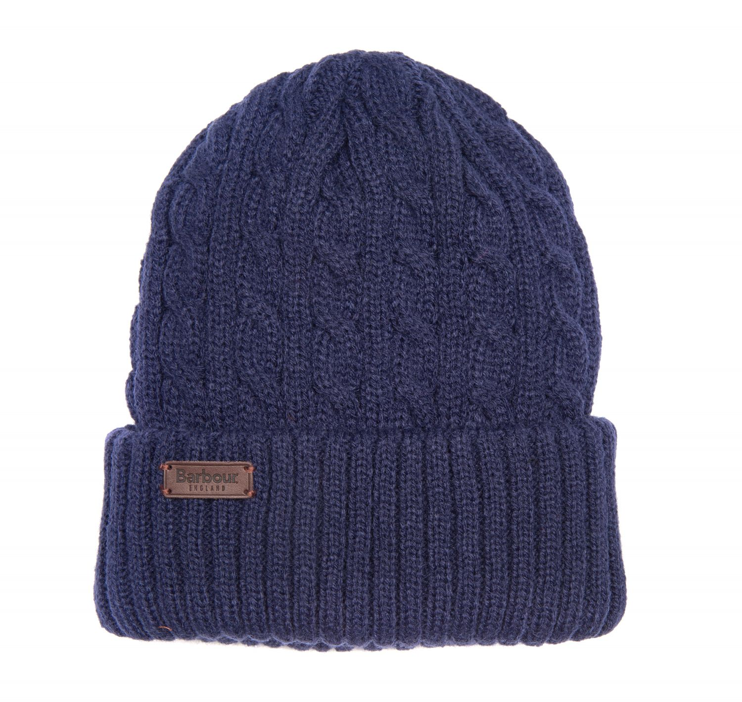 Barbour Balfron Knit Beanie Navy Barbour Lifestyle: from the Classic capsule
