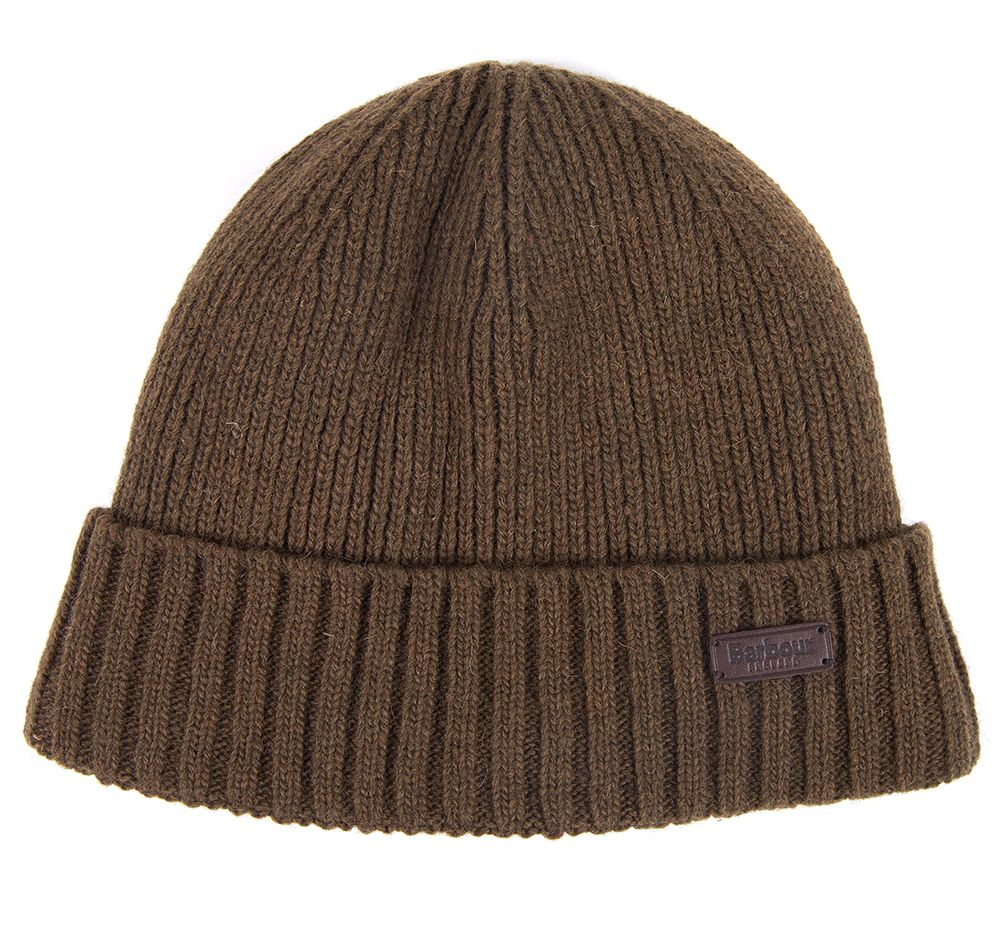 Barbour Carlton Beanie Fossil Barbour Lifestyle: from the Classic capsule