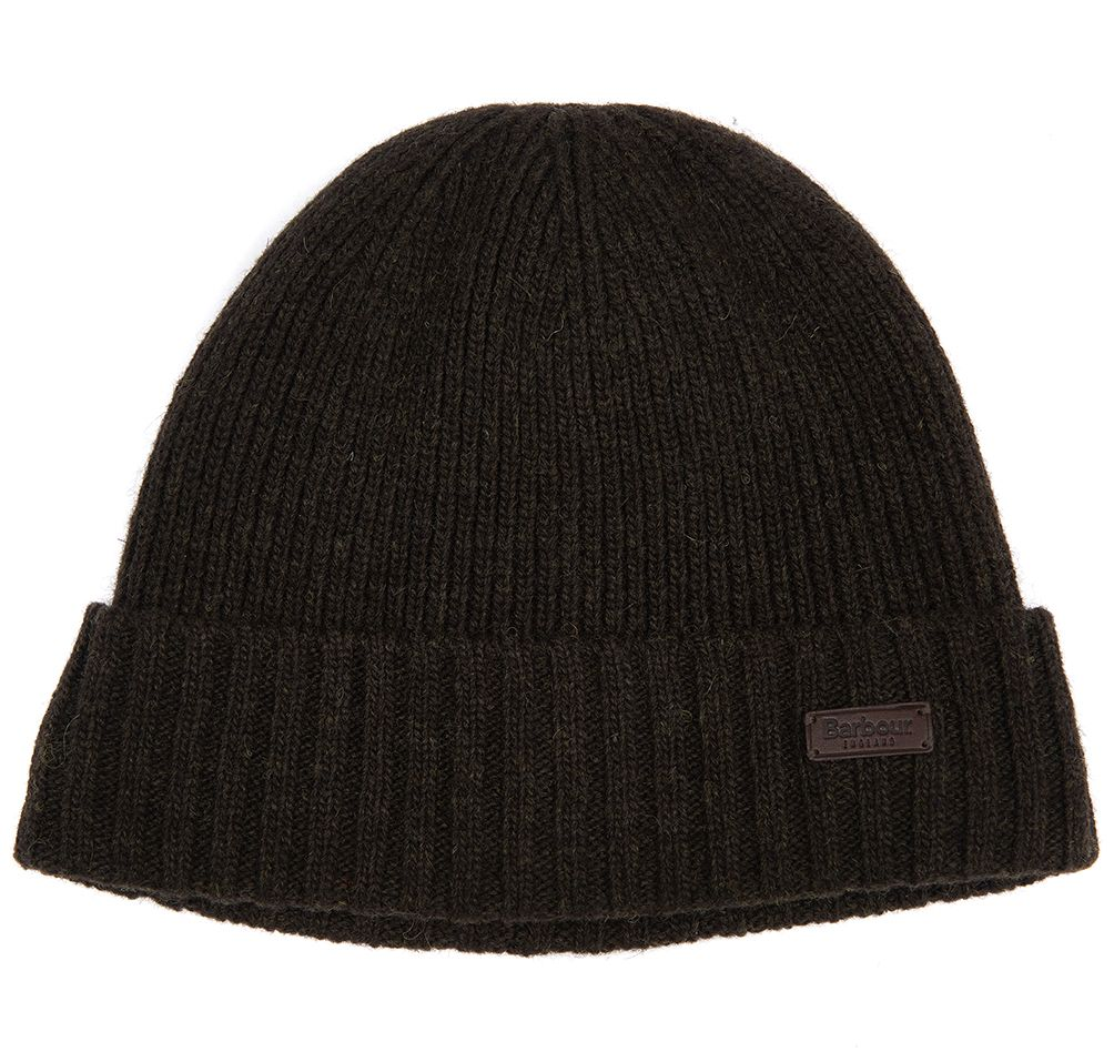 Barbour Barbour Carlton Beanie Dk Green Barbour Lifestyle: from the Classic capsule