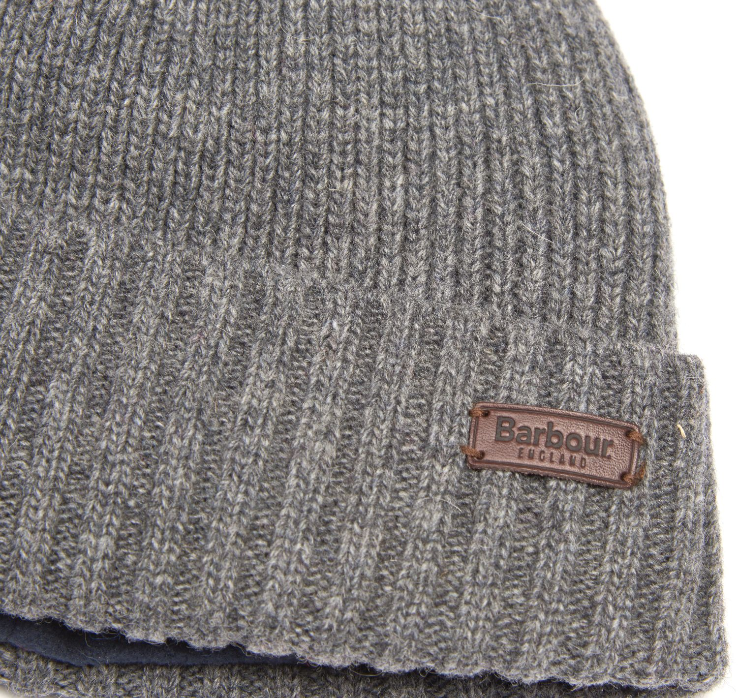 Barbour Carlton Beanie Grey Barbour Lifestyle: from the Classic capsule