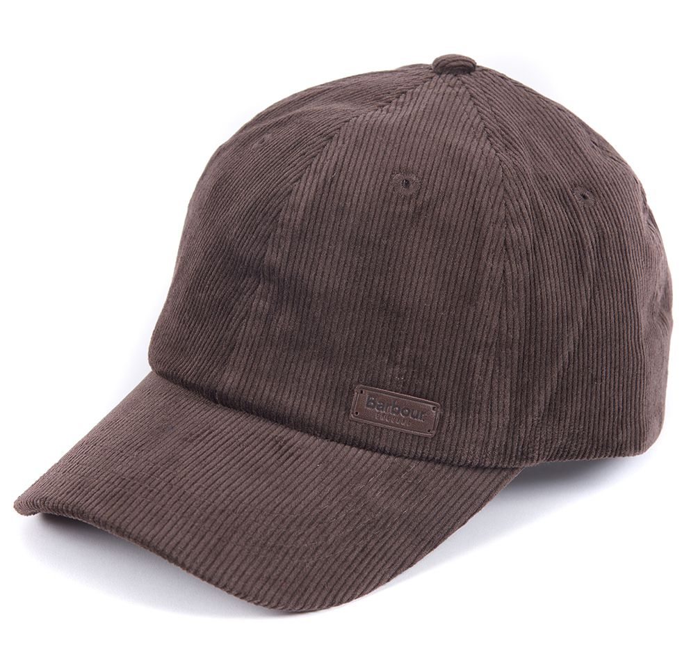 Barbour Nelson Sports Cap Chocolate Barbour Lifestyle: from the Classic capsule