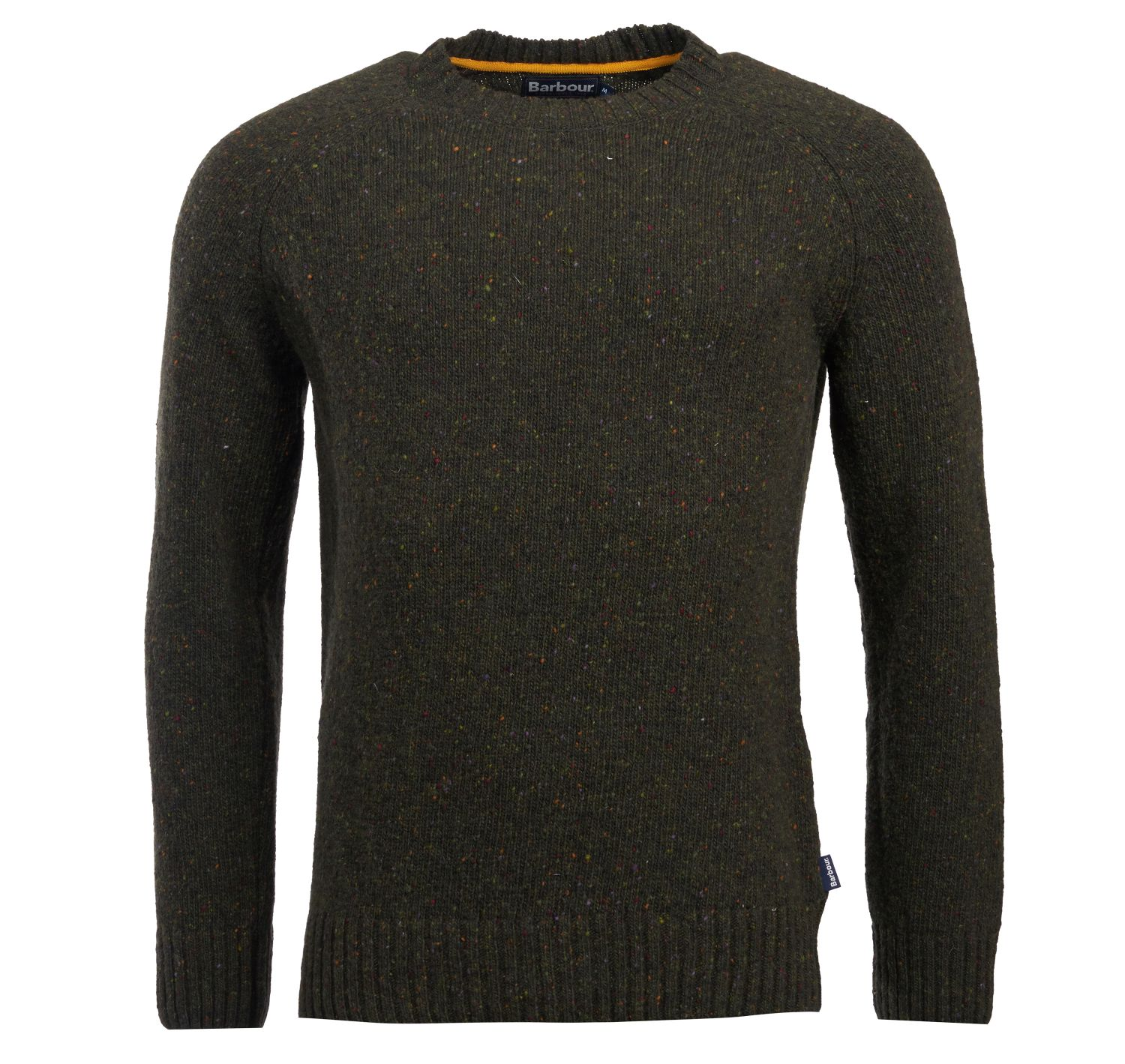 Barbour Netherton Crew Neck Sweater Forest Barbour Lifestyle: from the Classic capsule