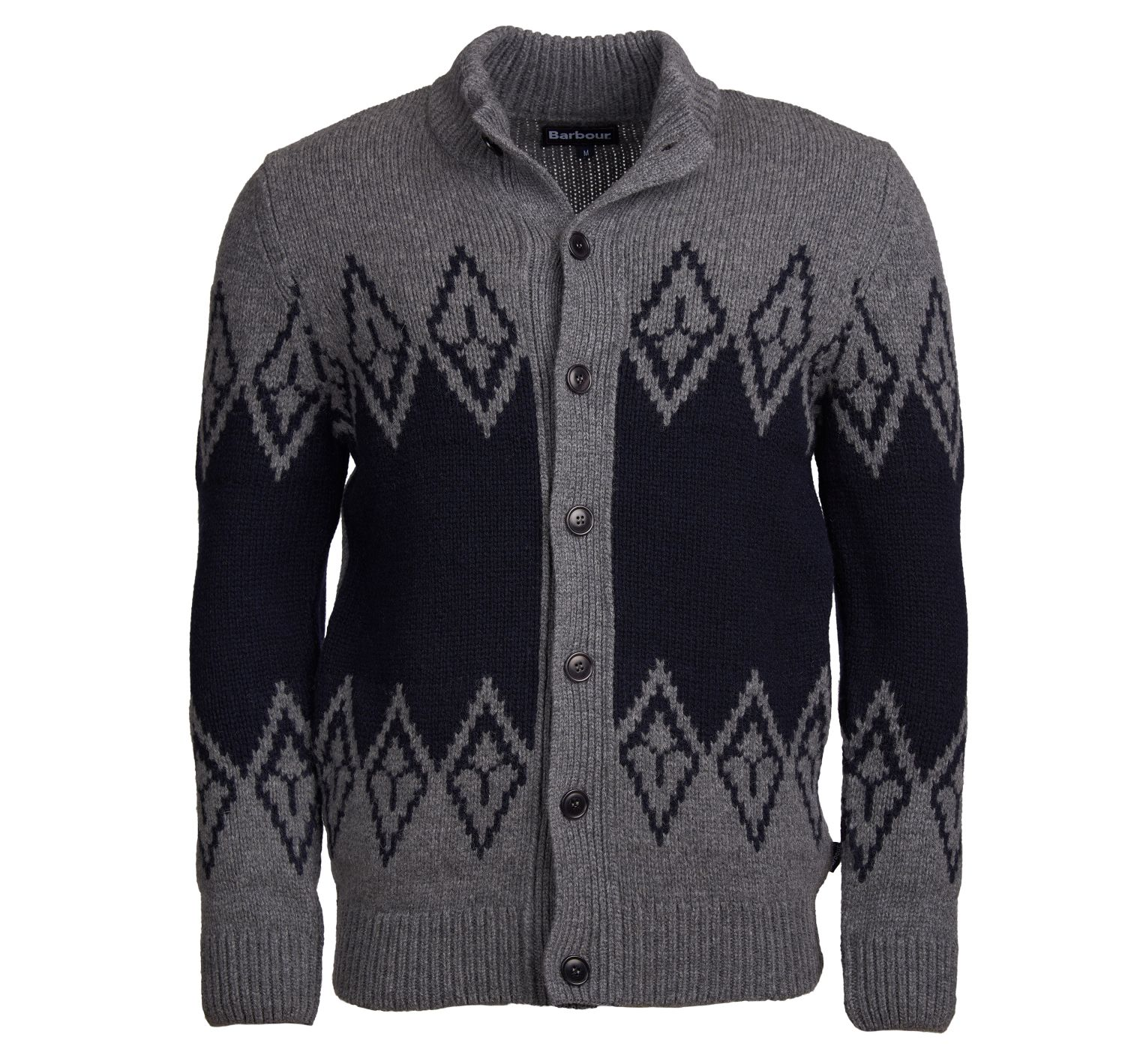 Barbour Snowden Fairisley Zip Thru Sweater Barbour Lifestyle: from the Classic capsule