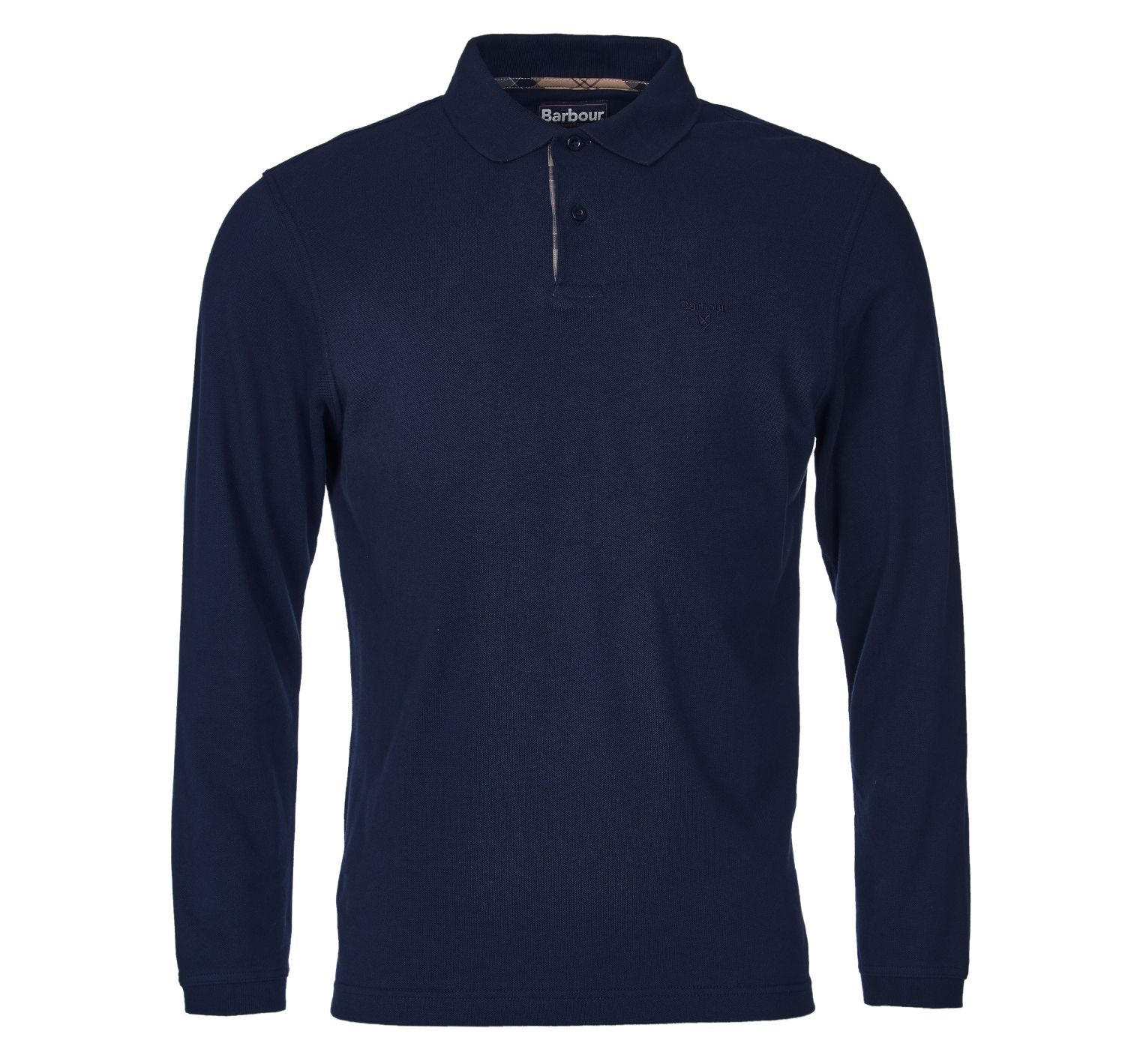 Barbour Long Sleeved Sports Polo Navy Barbour Lifestyle: from the Classic capsule