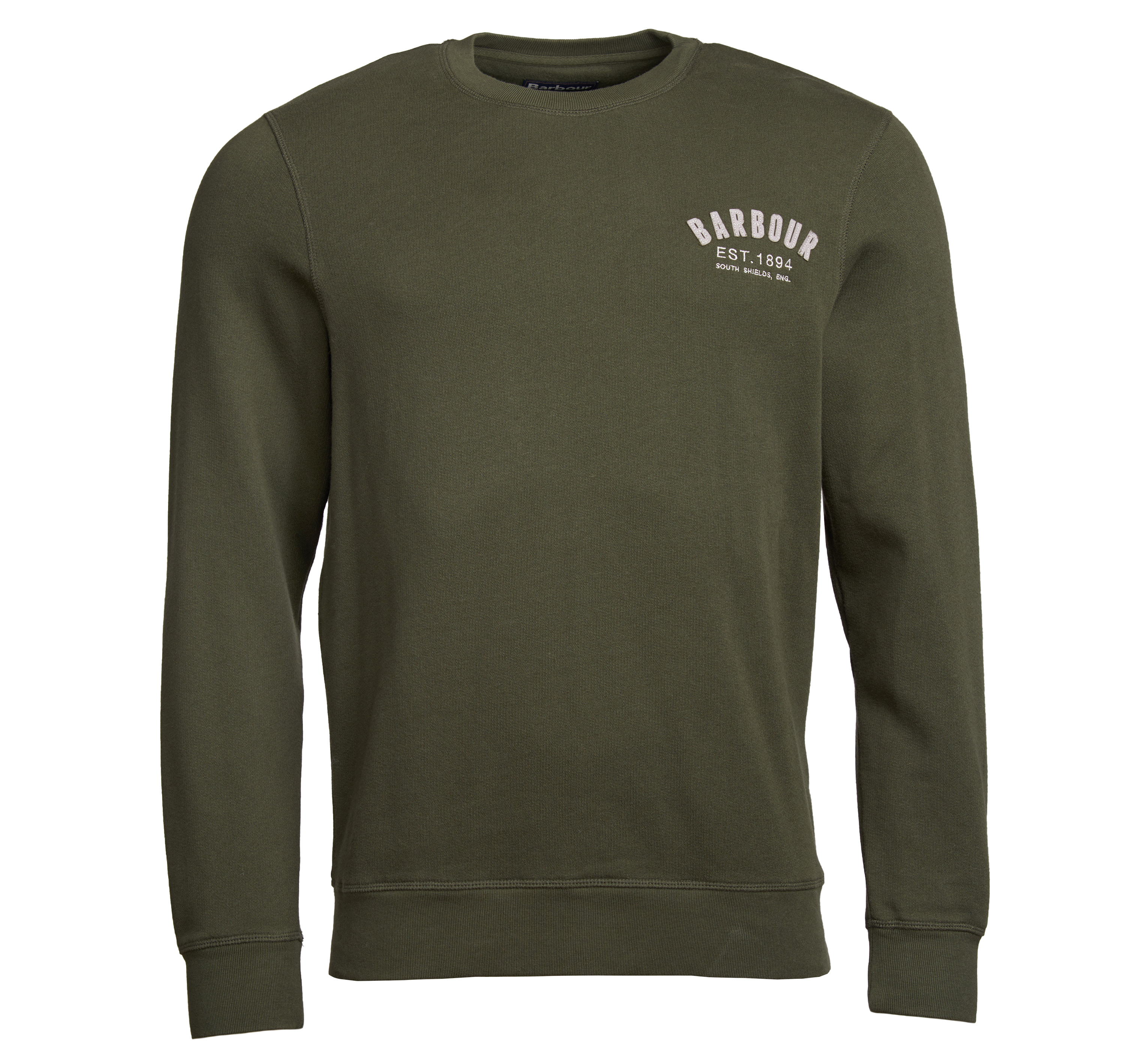 Barbour Preppy Crew Sweater Forest Barbour International