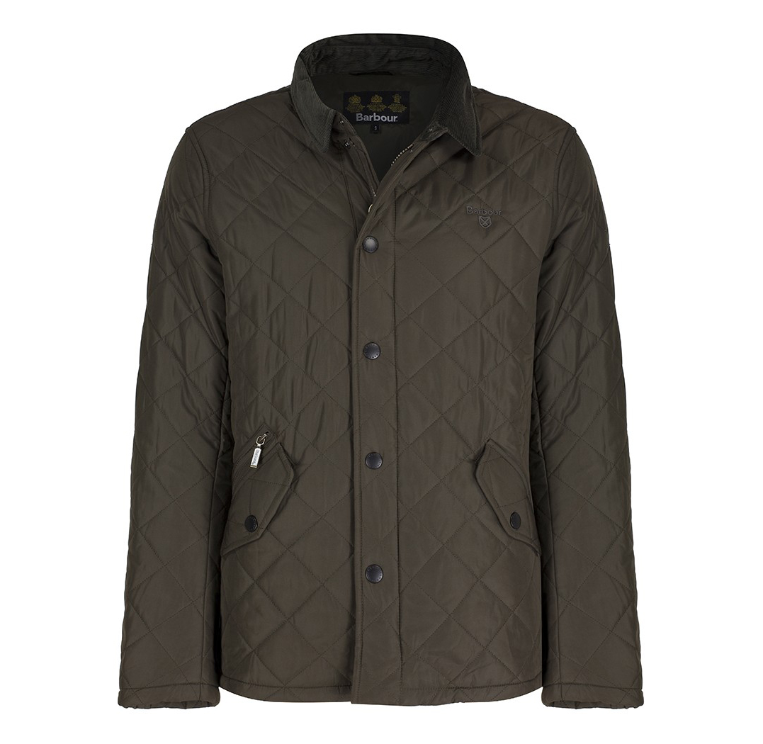 Barbour Putney Sport Jacket Oliva Barbour Lifestyle: From the Classic collection