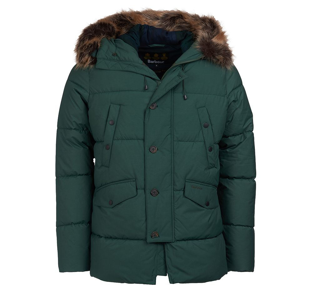Barbour Fenny Quilted Jacket Green Barbour LifeStyle: From the Classic collection