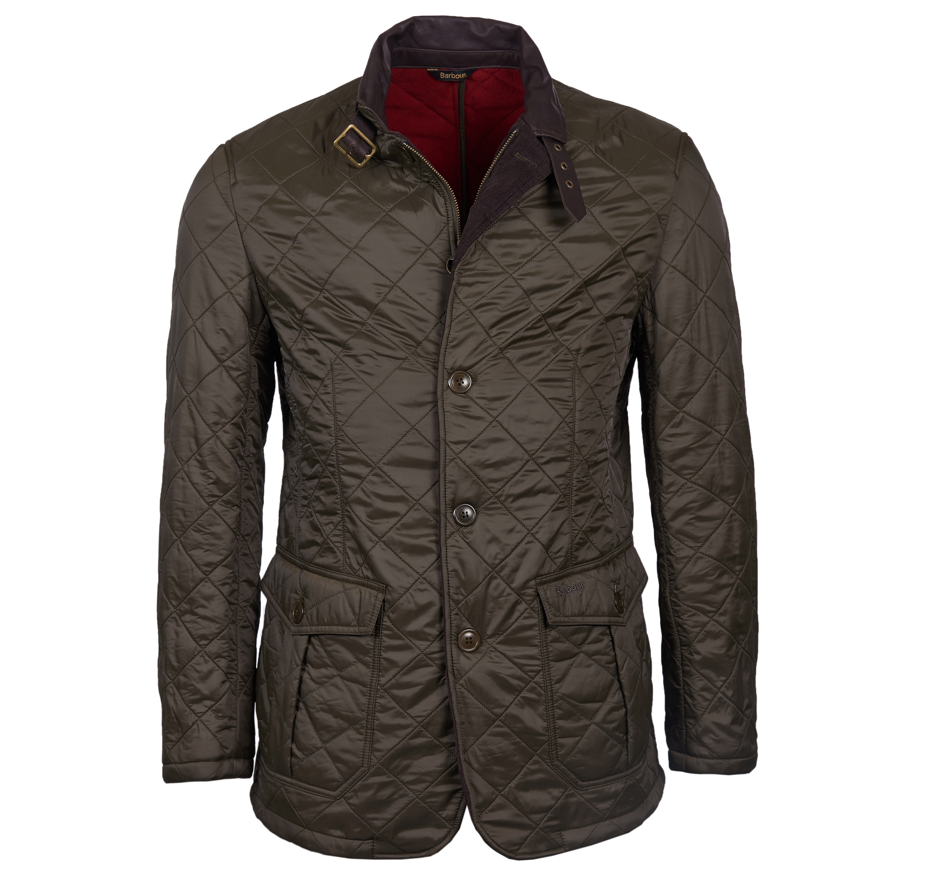 Barbour Doister Polarquilt Olive Barbour International