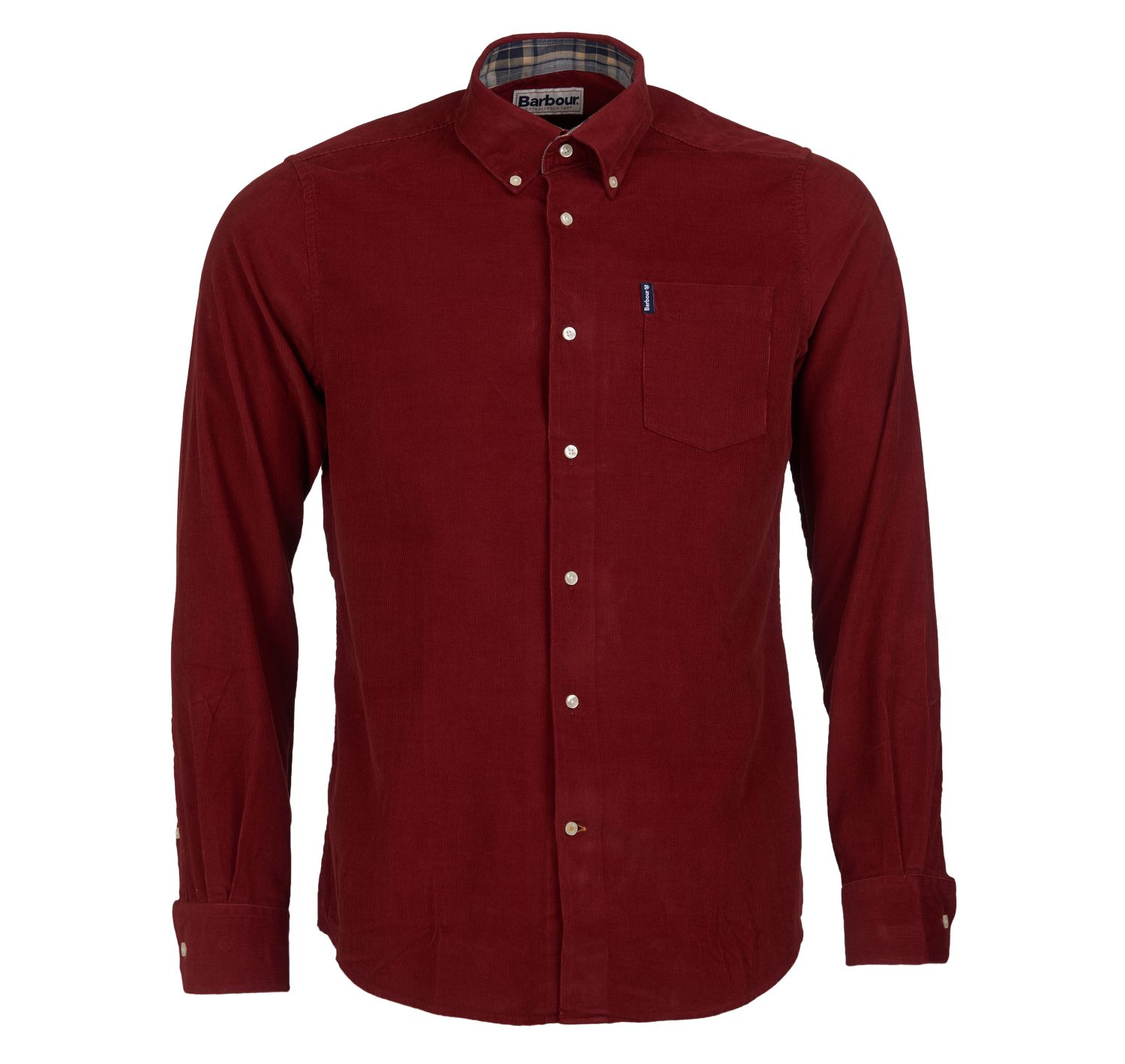 Barbour Morris Shirt Rust Barbour International