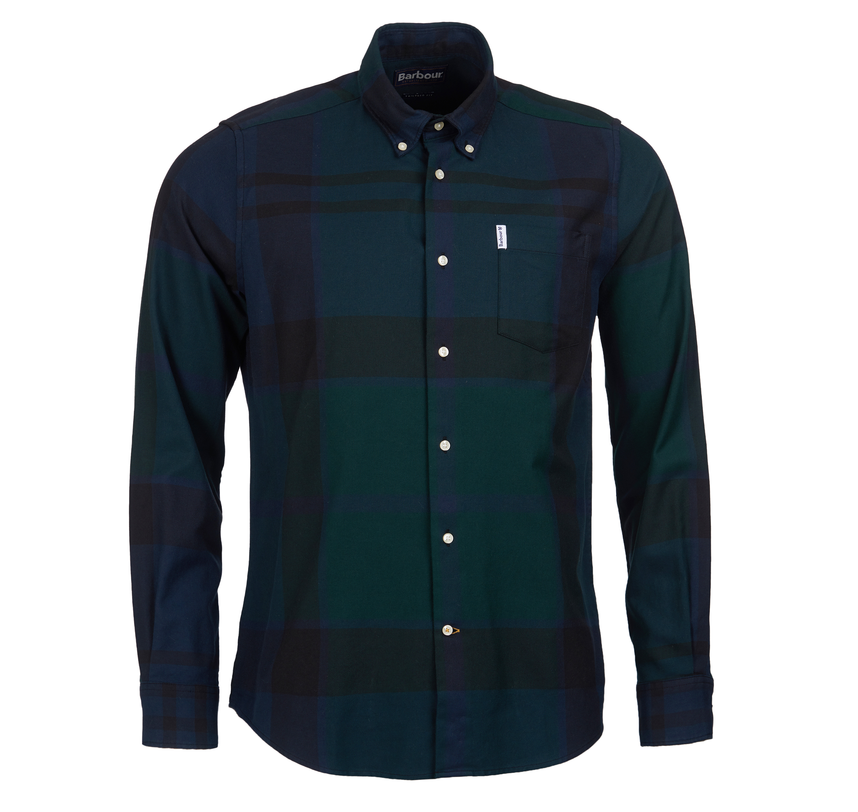 Barbour Dunoon Tailored Shirt Black Barbour International
