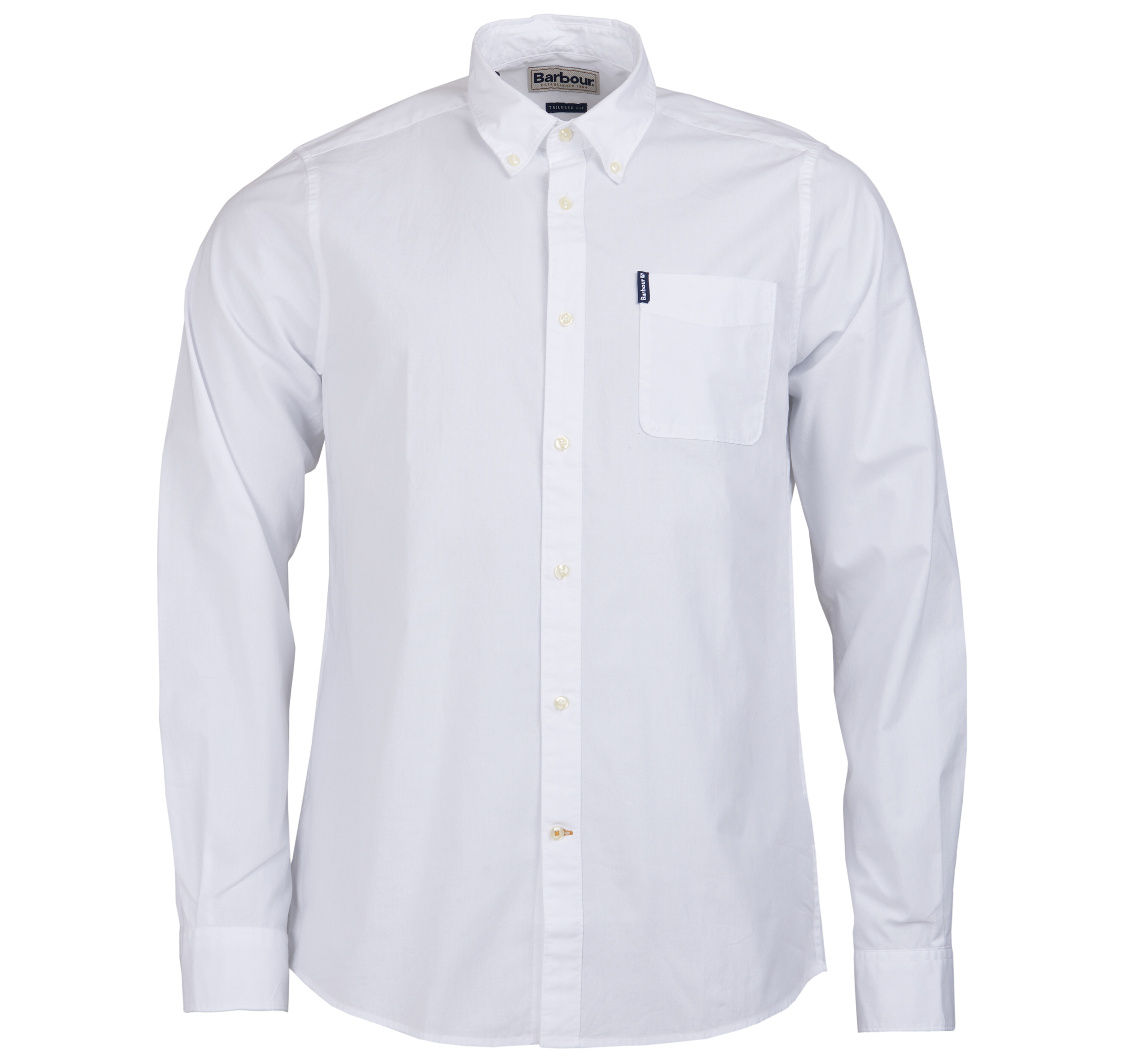 Barbour Stretch Popelin White Barbour International