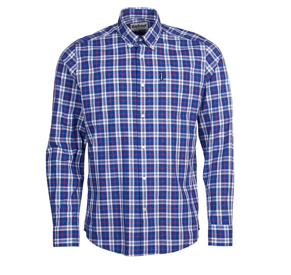 Barbour Highland Check Blue Barbour International