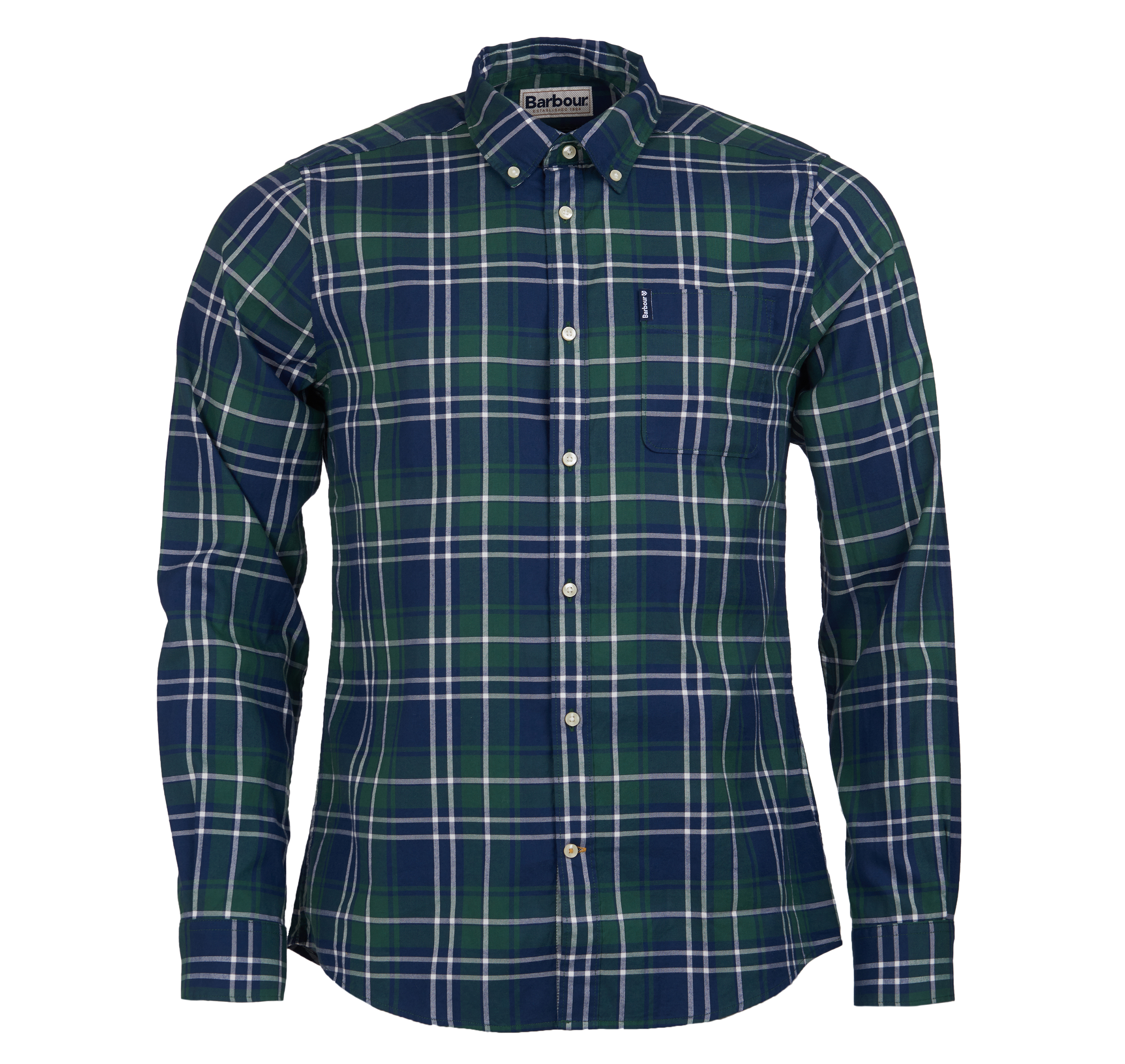 Barbour Highland Shirt Green Barbour International