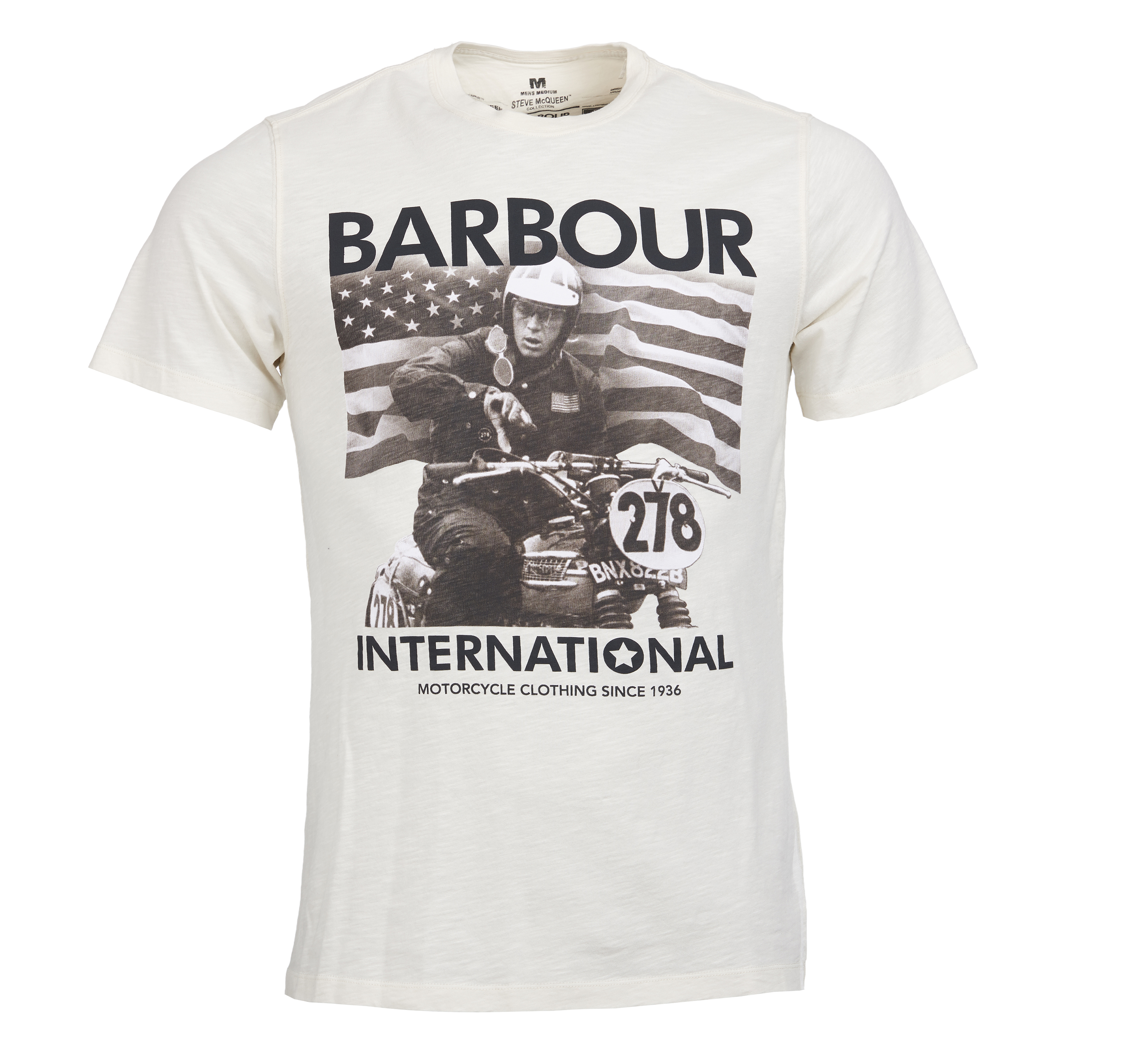 Barbour 278 Time T-Shirt Barbour International From Steve McQueen Collection