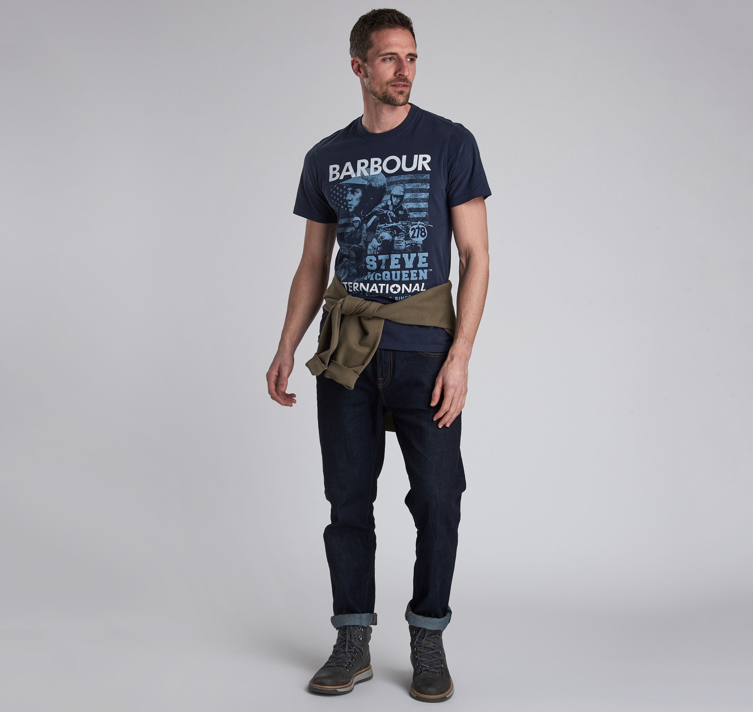 Barbour Collage T-Shirt
