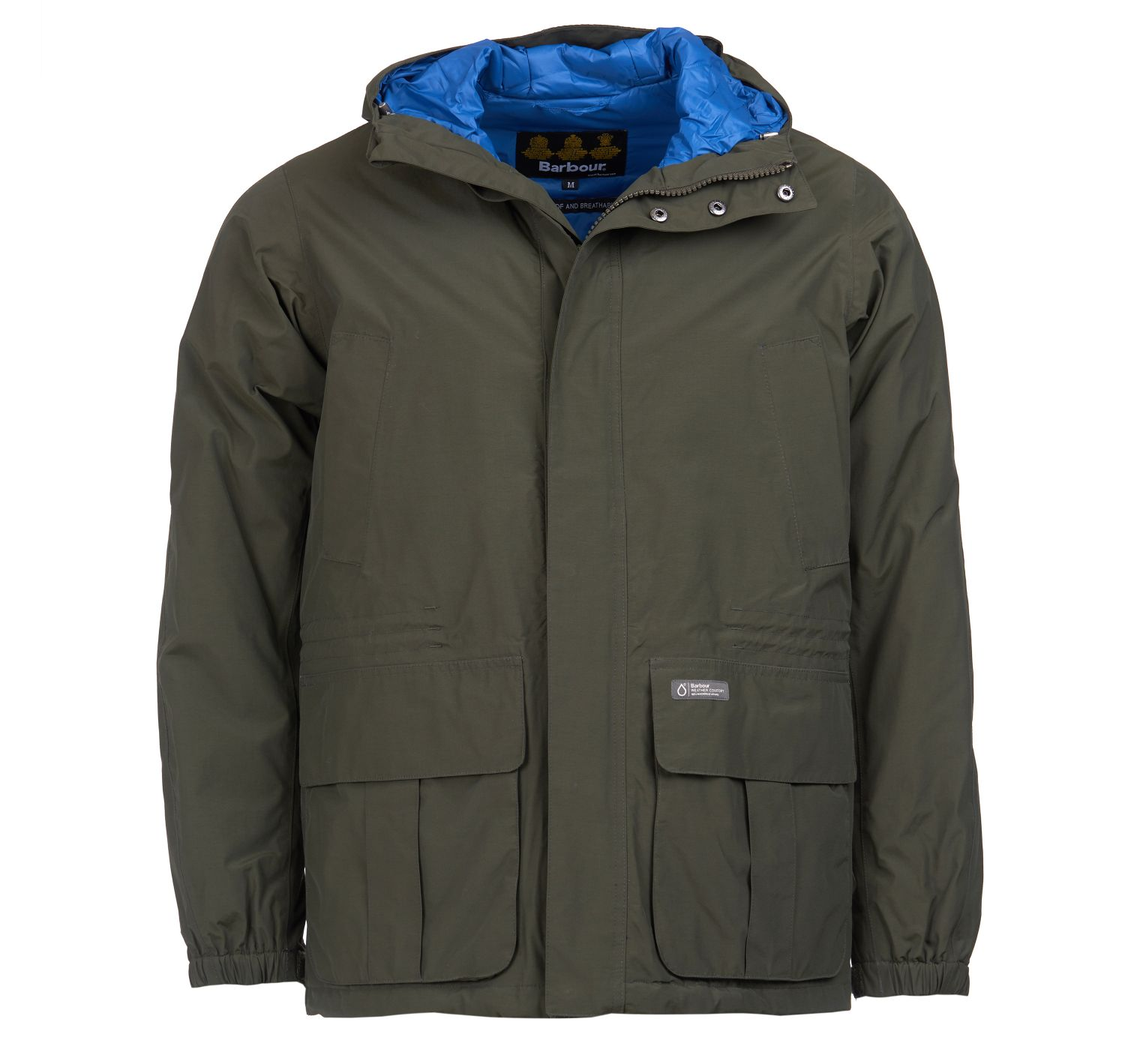 Barbour Ashton Waterproof Breathable Jacket Olive