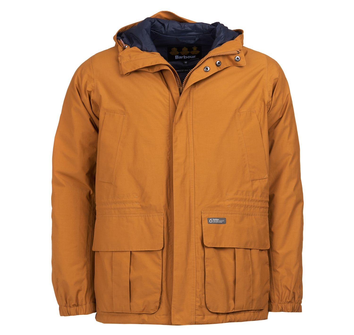 Barbour Ashton Waterproof Breathable Jacket Yellow FIT: Tailored