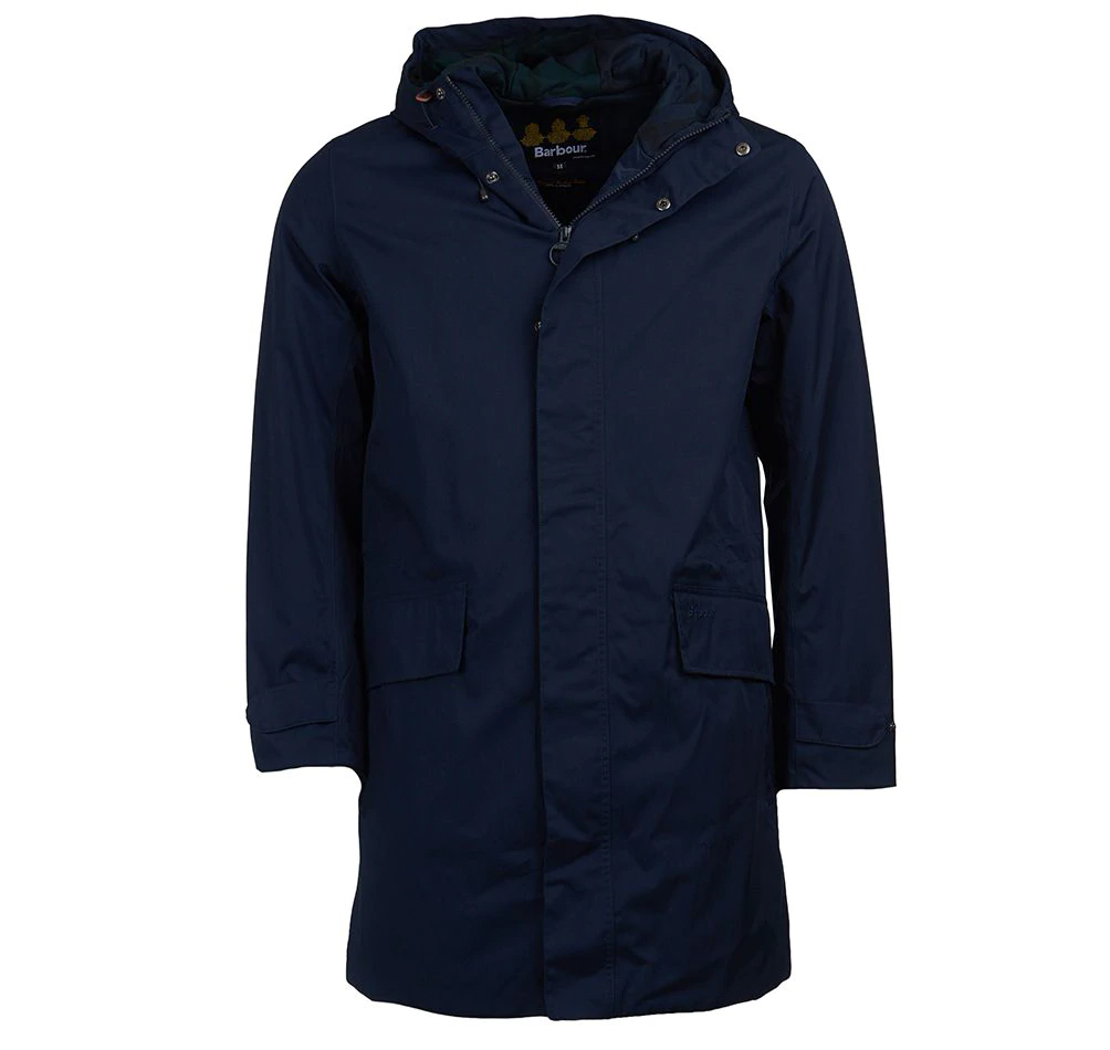 Barbour Pershore Waterproof Breathable Jacket Navy FIT: Tailored