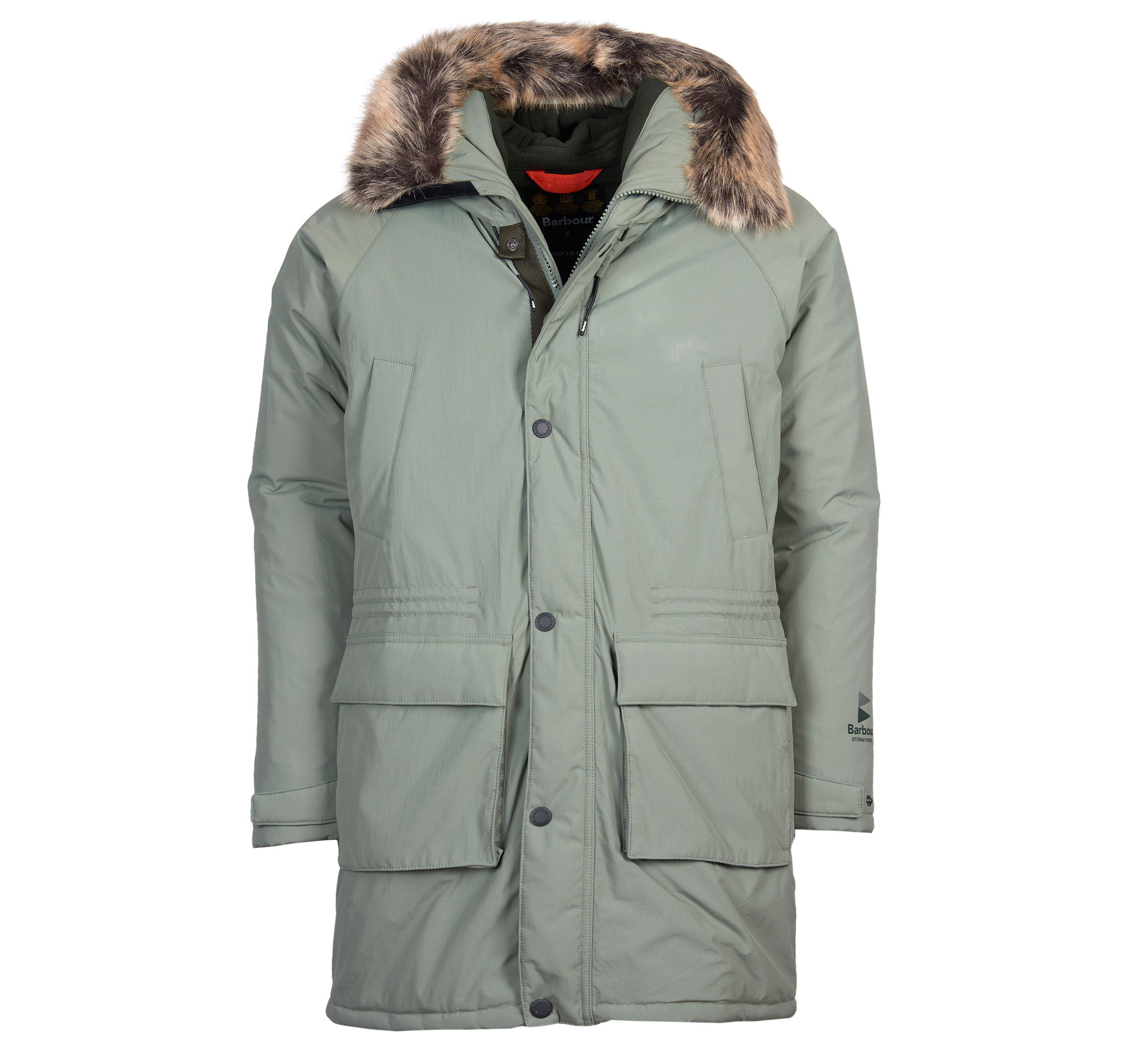 Barbour Gustnado Waterproof Breathable Jacket Green FIT: Tailored