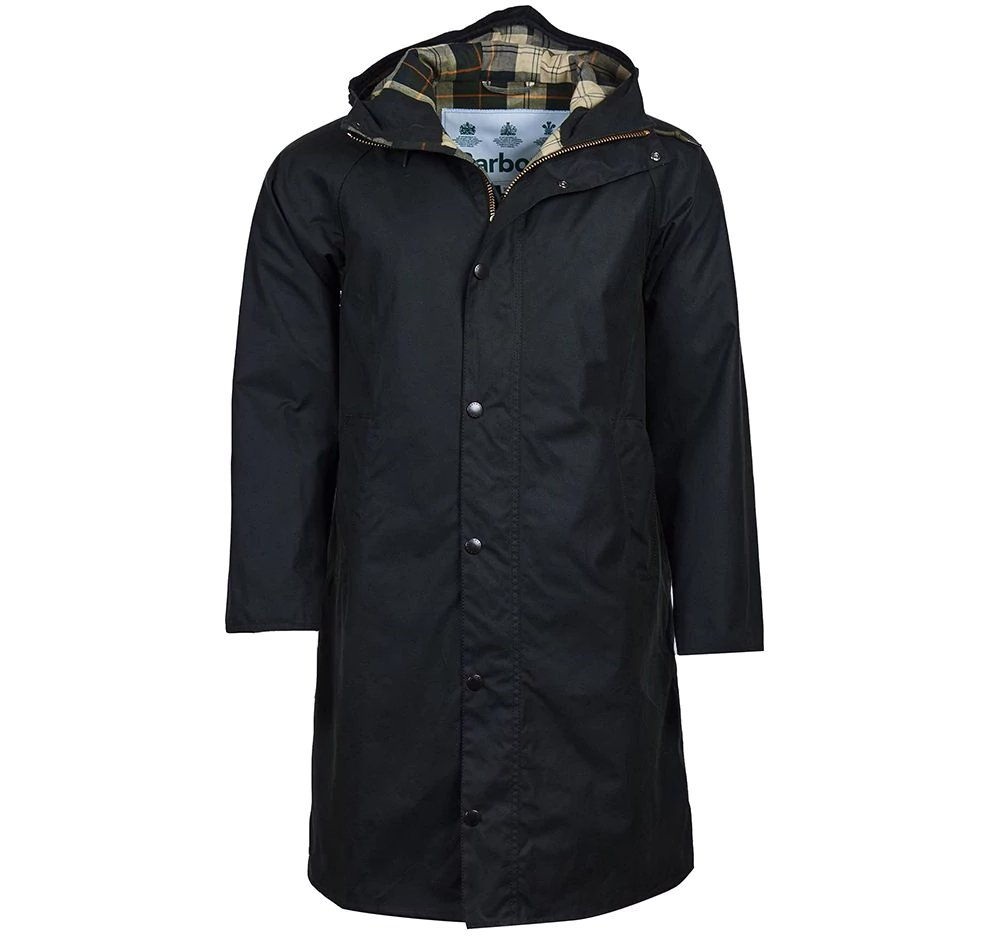 Barbour Barbour Hooded Hunting Waxed Jacket Barbour International