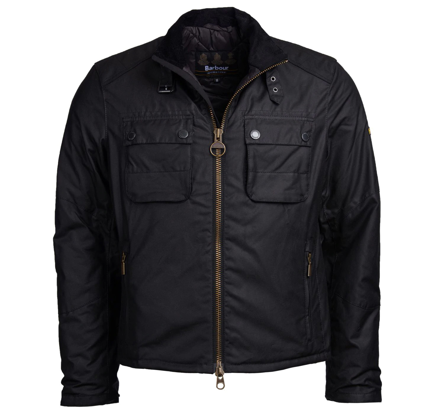 Barbour International Byward waxed cotton jacket Barbour International