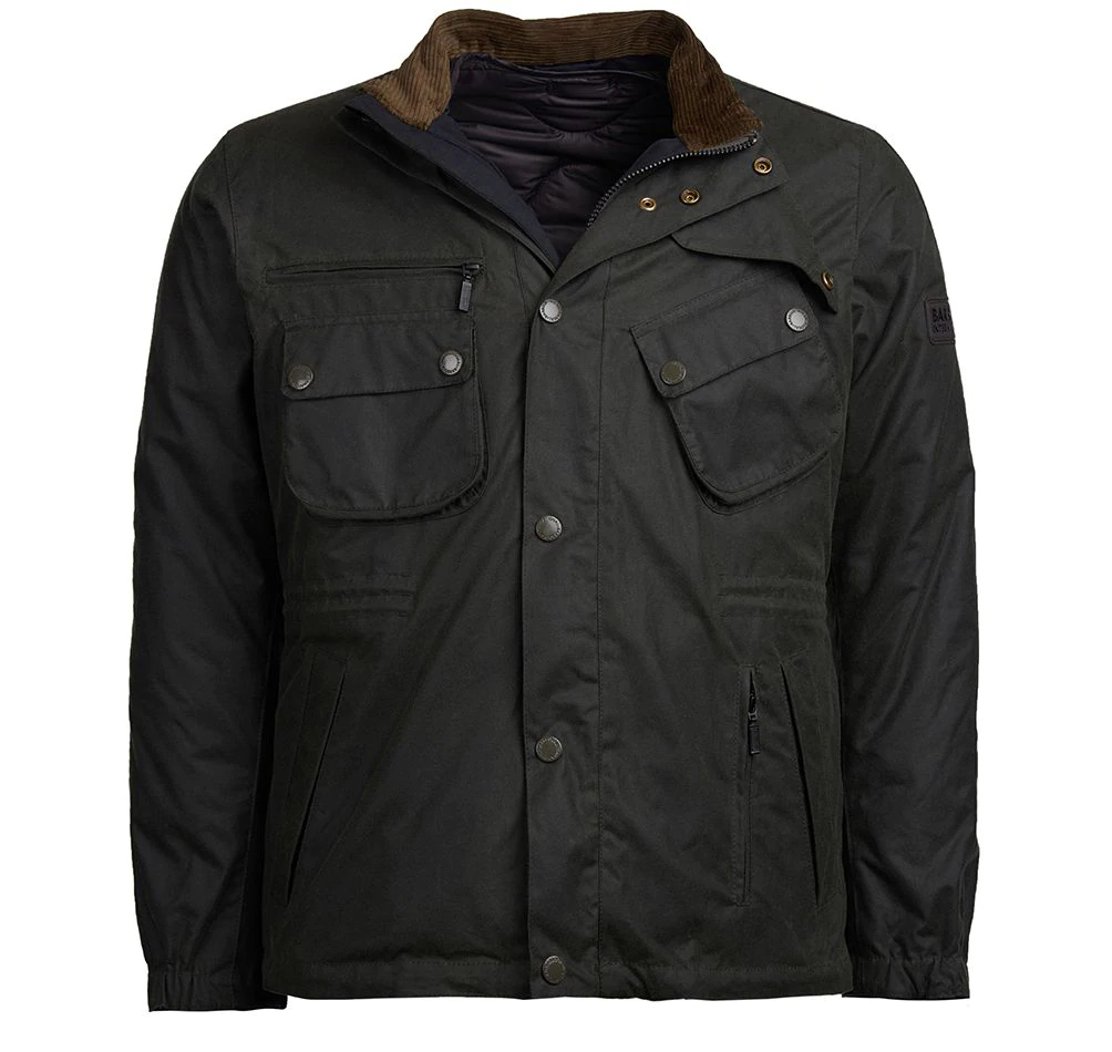 Barbour Intl Nomic Waxed Cotton Jacket Barbour International