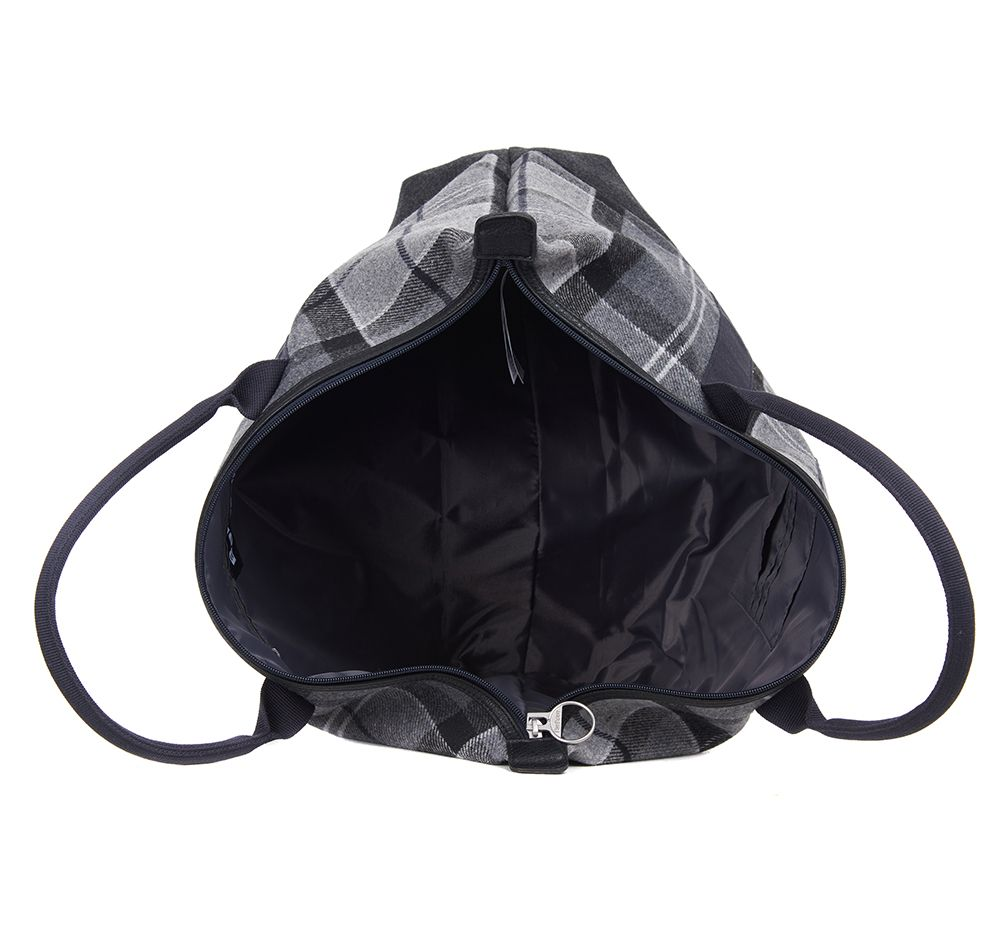 Barbour Elgin Holdall Grey Black