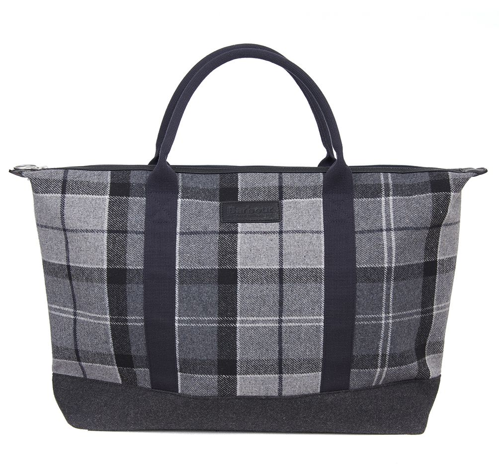 Barbour Barbour Elgin Holdall Grey Black