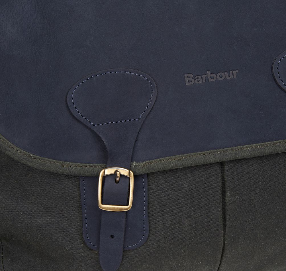 Barbour Icons Wax Tarras Bag Sage