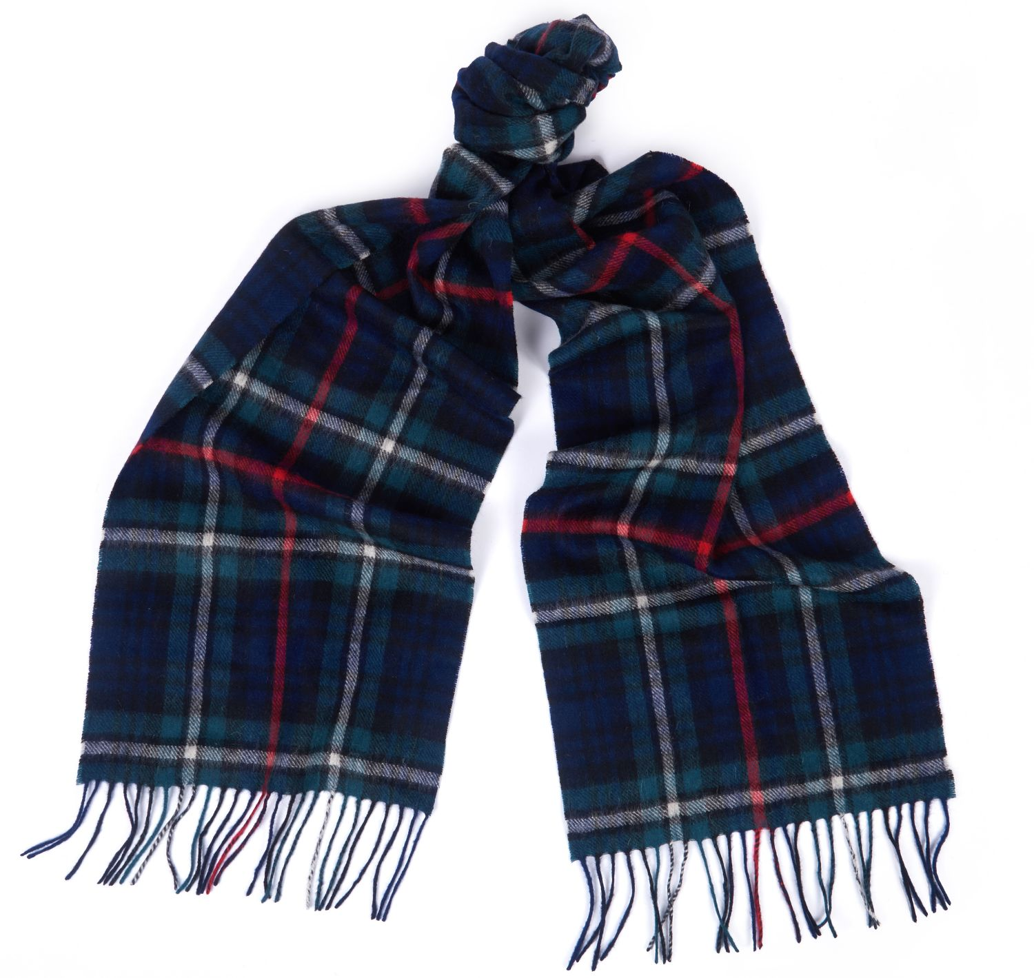 Barbour New Check Tartan Scarf Mackenzie